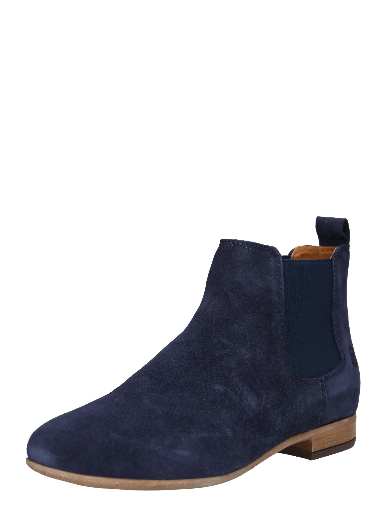 Chelsea boty námořnická modř TAMARIS