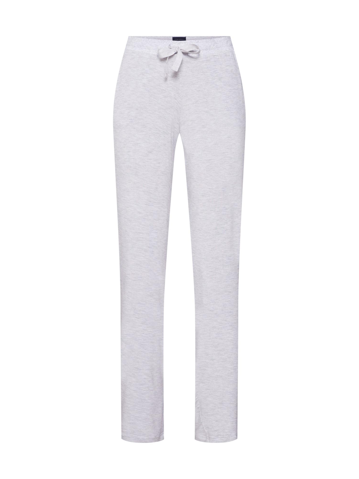 Pyžamové kalhoty šedý melír SCHIESSER