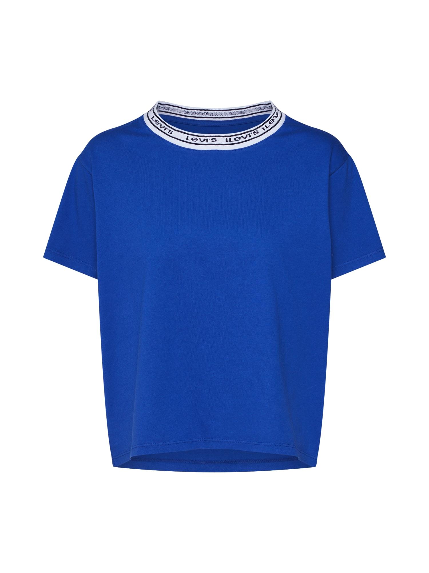 LEVIS Tričko VARSITY TEE modrá LEVI'S