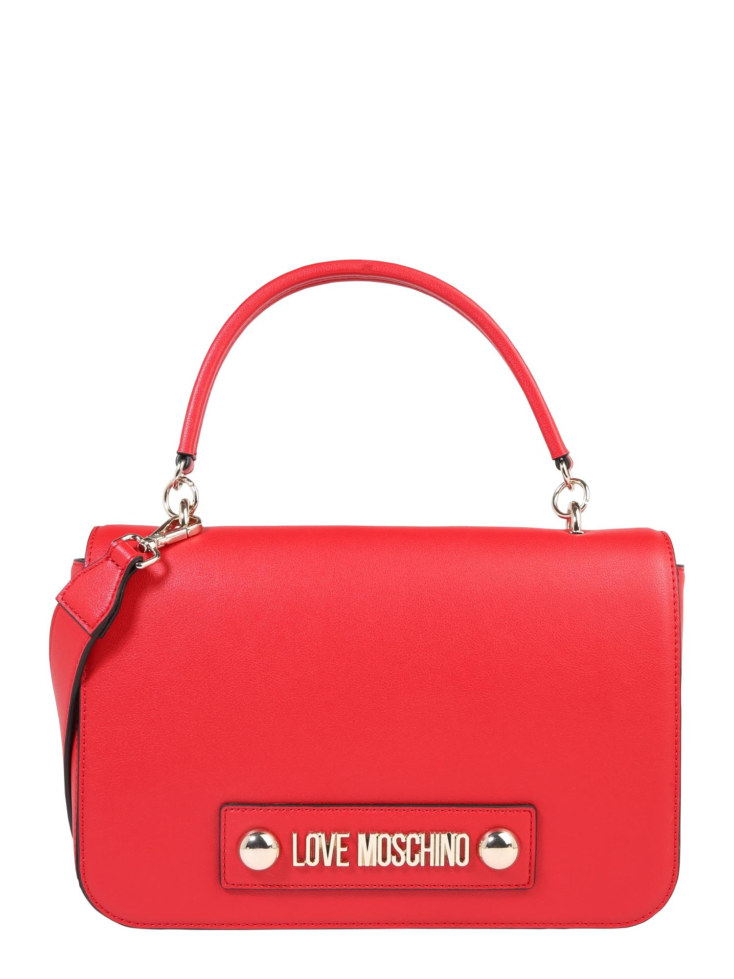 Taška přes rameno červená Love Moschino