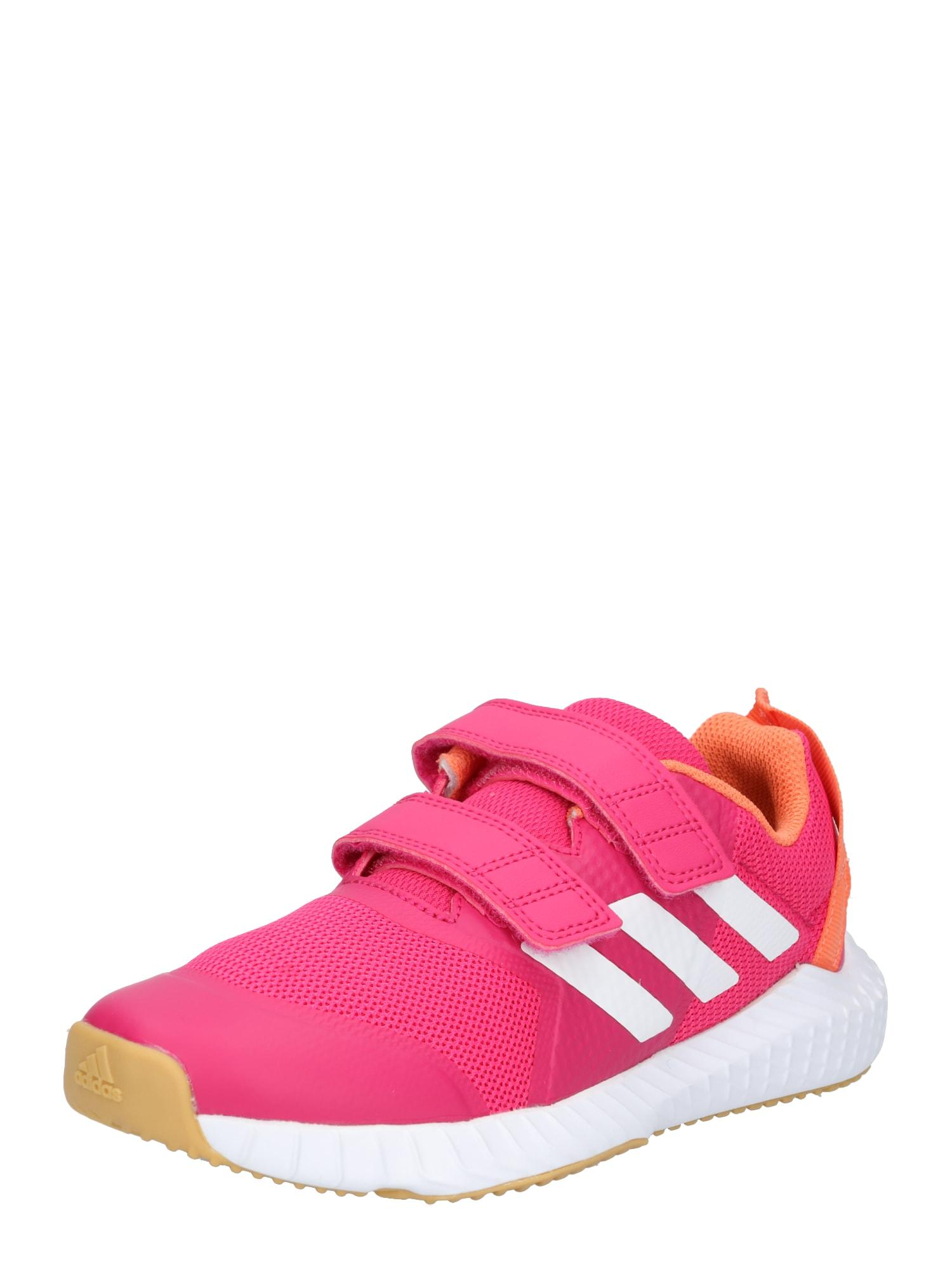 Sportovní boty FortaGym oranžová fuchsiová bílá ADIDAS PERFORMANCE