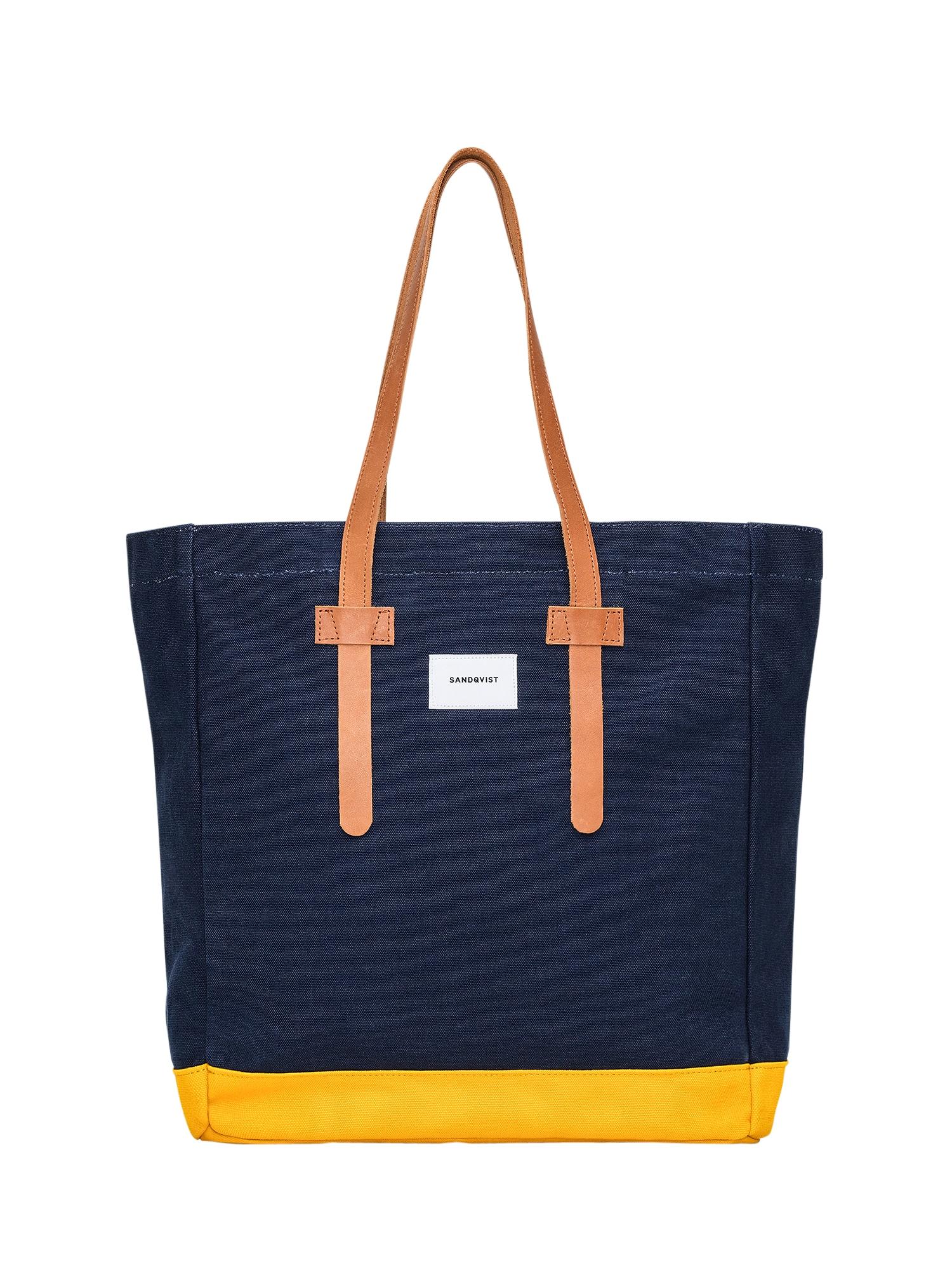 Nákupní taška modrá žlutá SANDQVIST