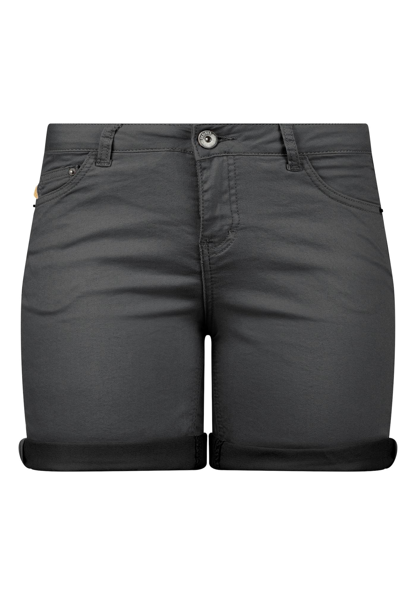 Jeansshorts 'Lila' | Bekleidung > Jeans > Shorts & Bermudas | Dunkelgrau | Desires