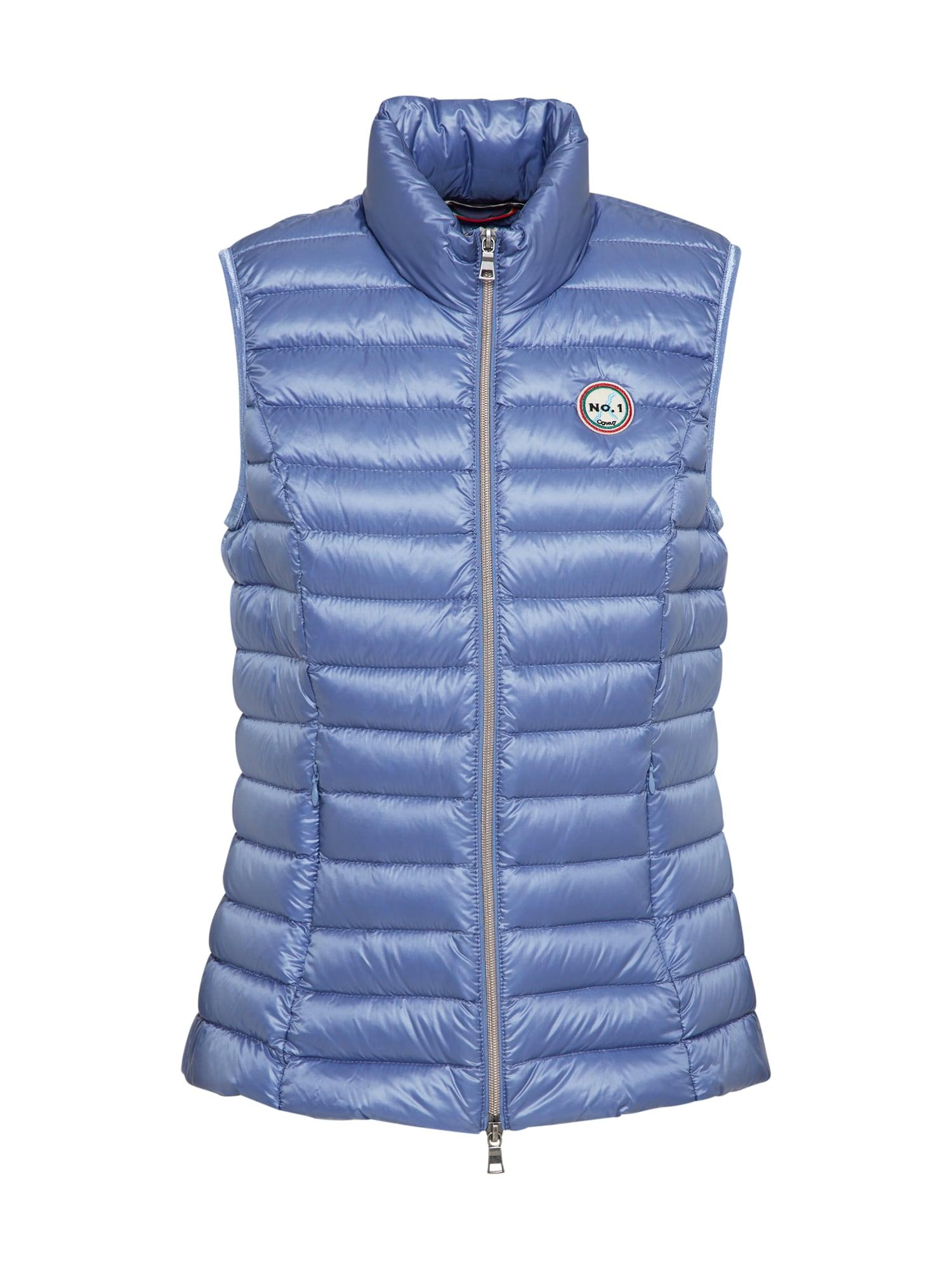 No. 1 Como, Dames Bodywarmer 'Carpi', blauw denim