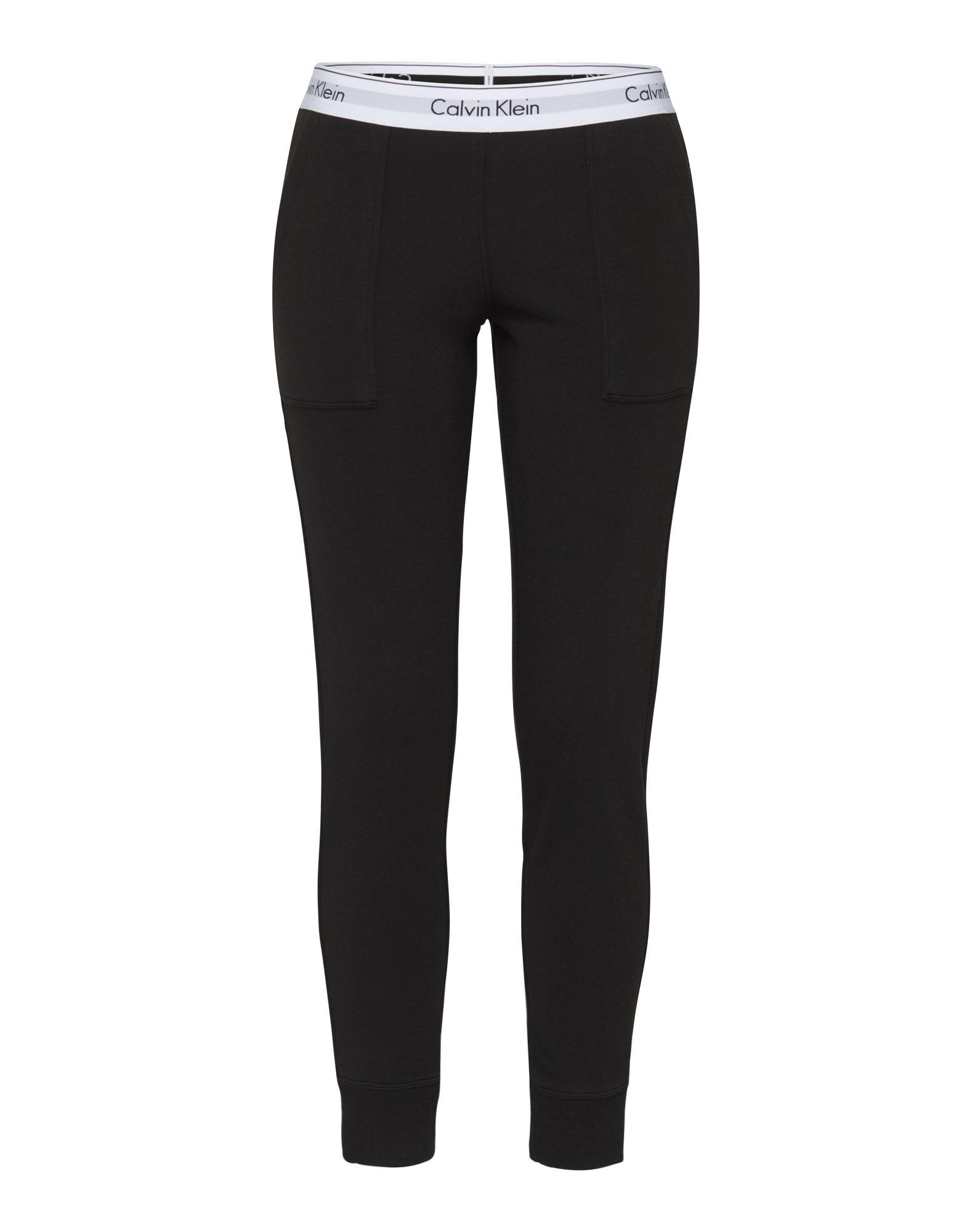 Kalhoty Bottom černá Calvin Klein Underwear