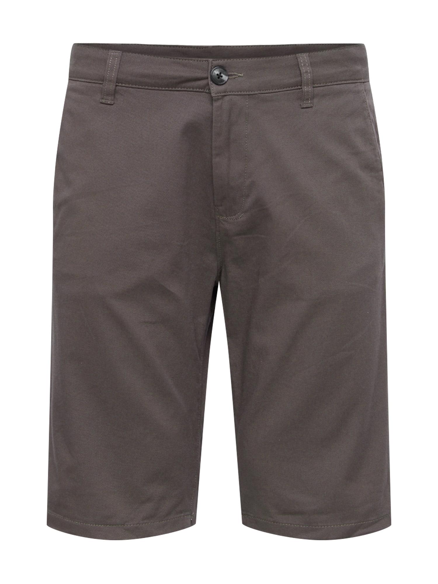 Chino kalhoty šedobéžová TOM TAILOR DENIM