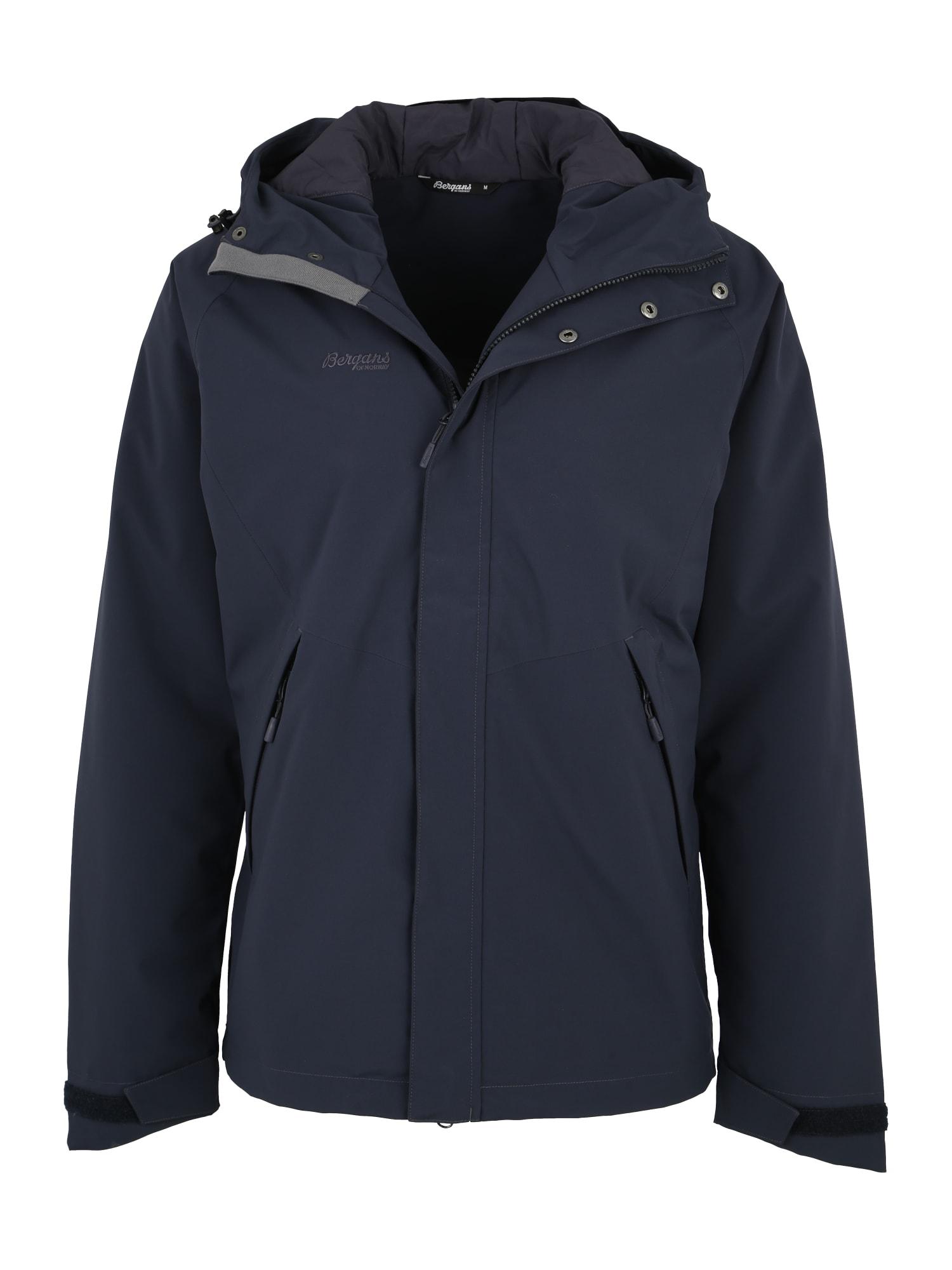 Sportovní bunda Ramberg námořnická modř Bergans