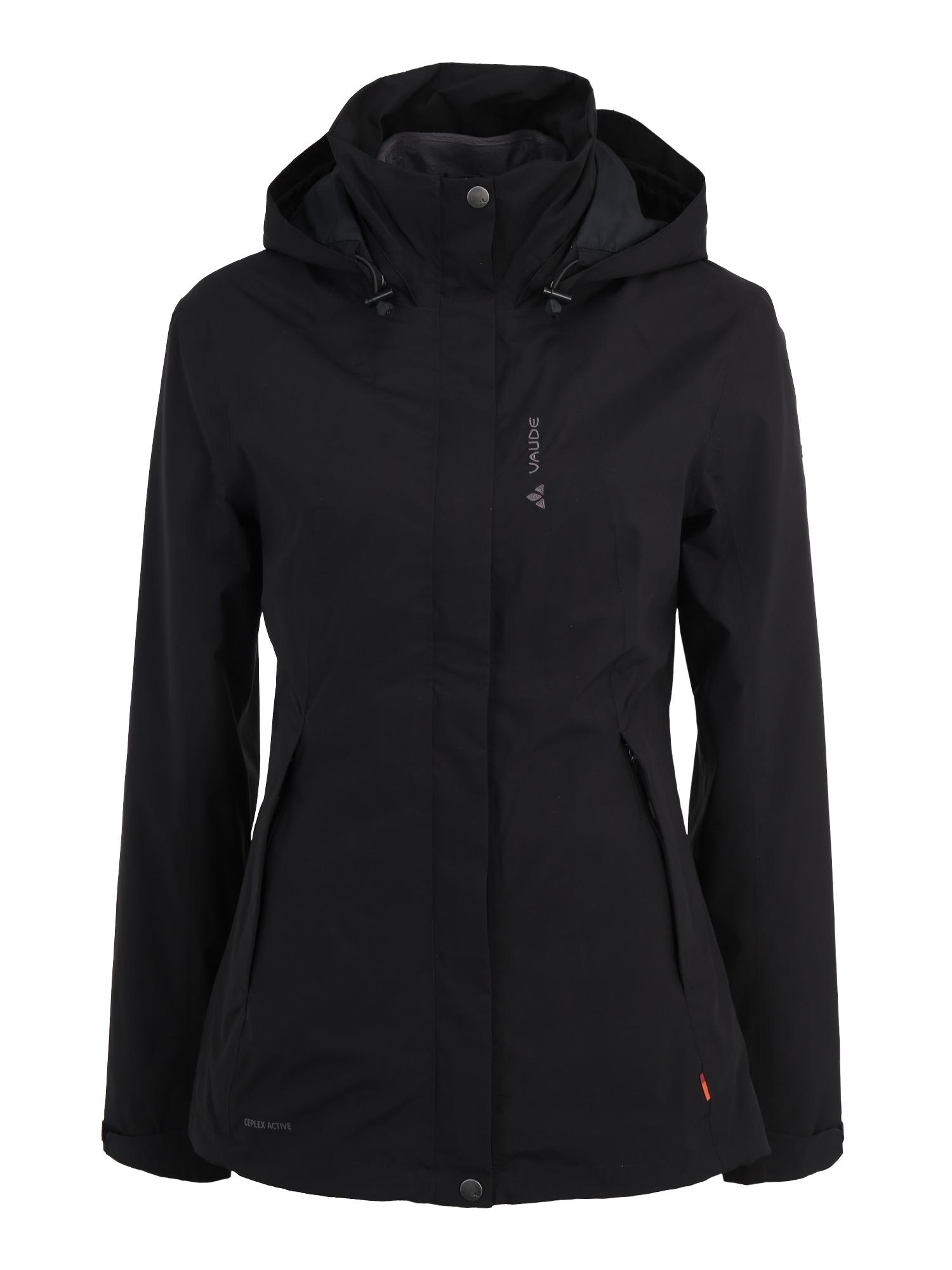 Outdoorová bunda Kintail černá VAUDE