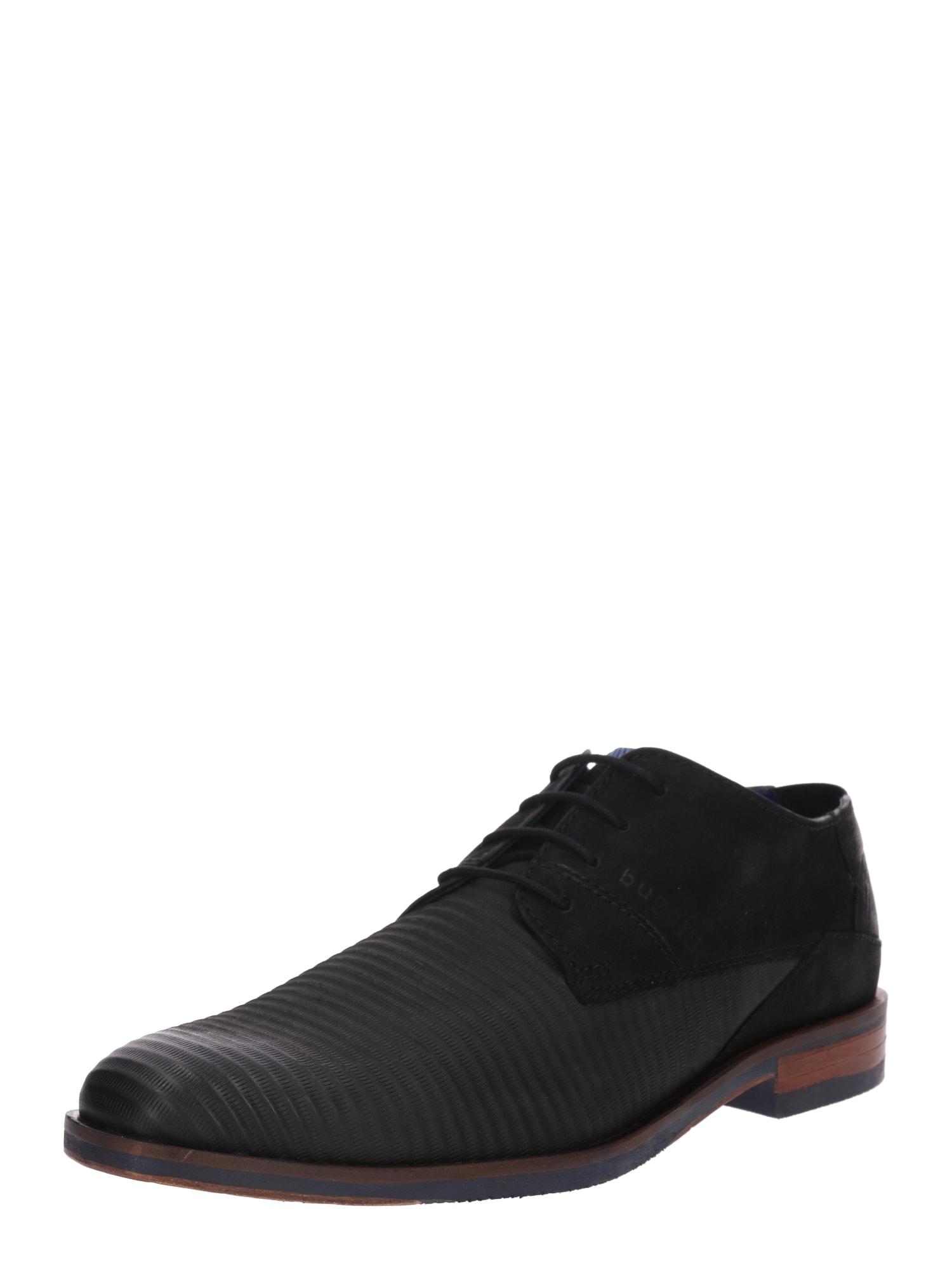 Šněrovací boty Rainel Evo černá Bugatti