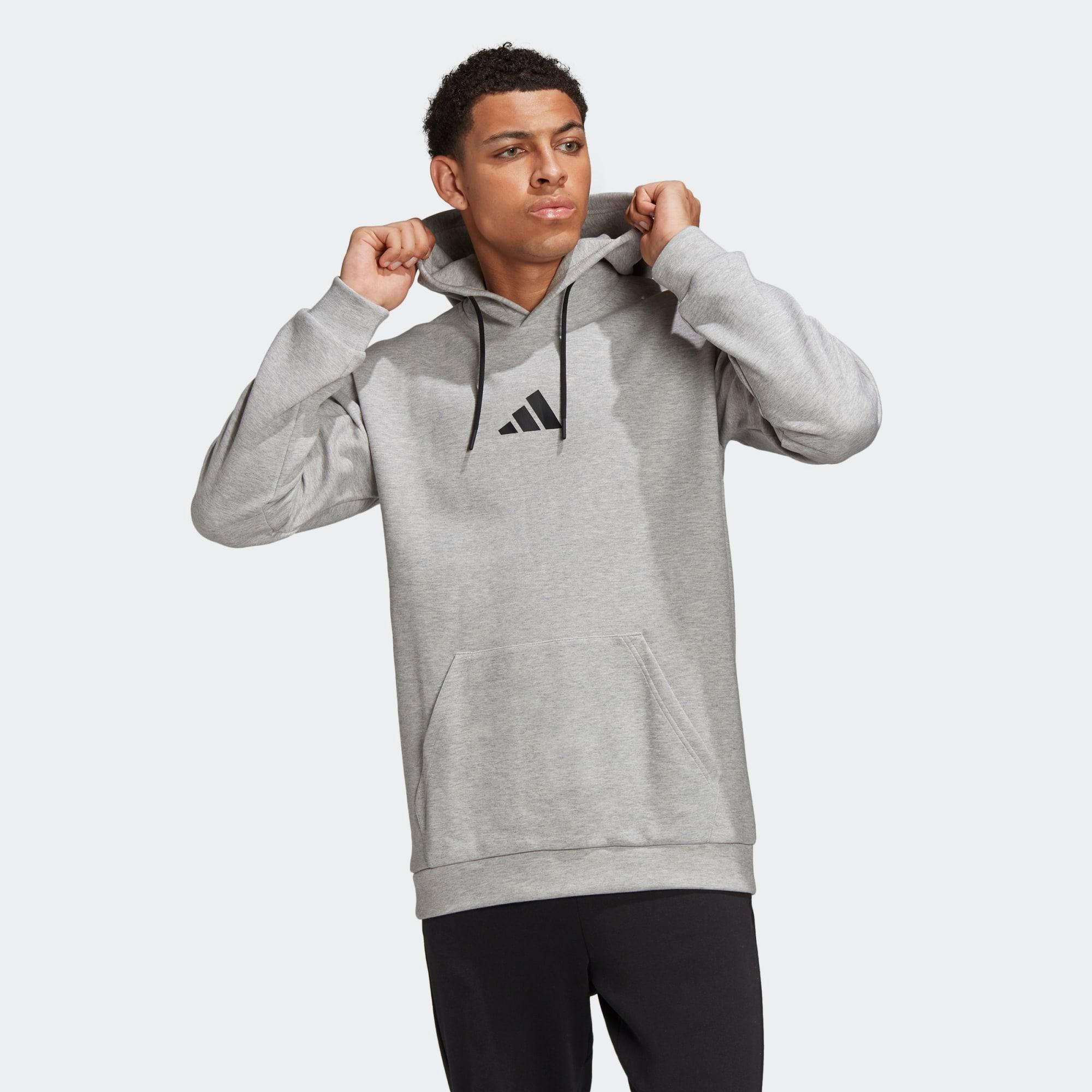 ADIDAS PERFORMANCE Sportovní svetr  šedá
