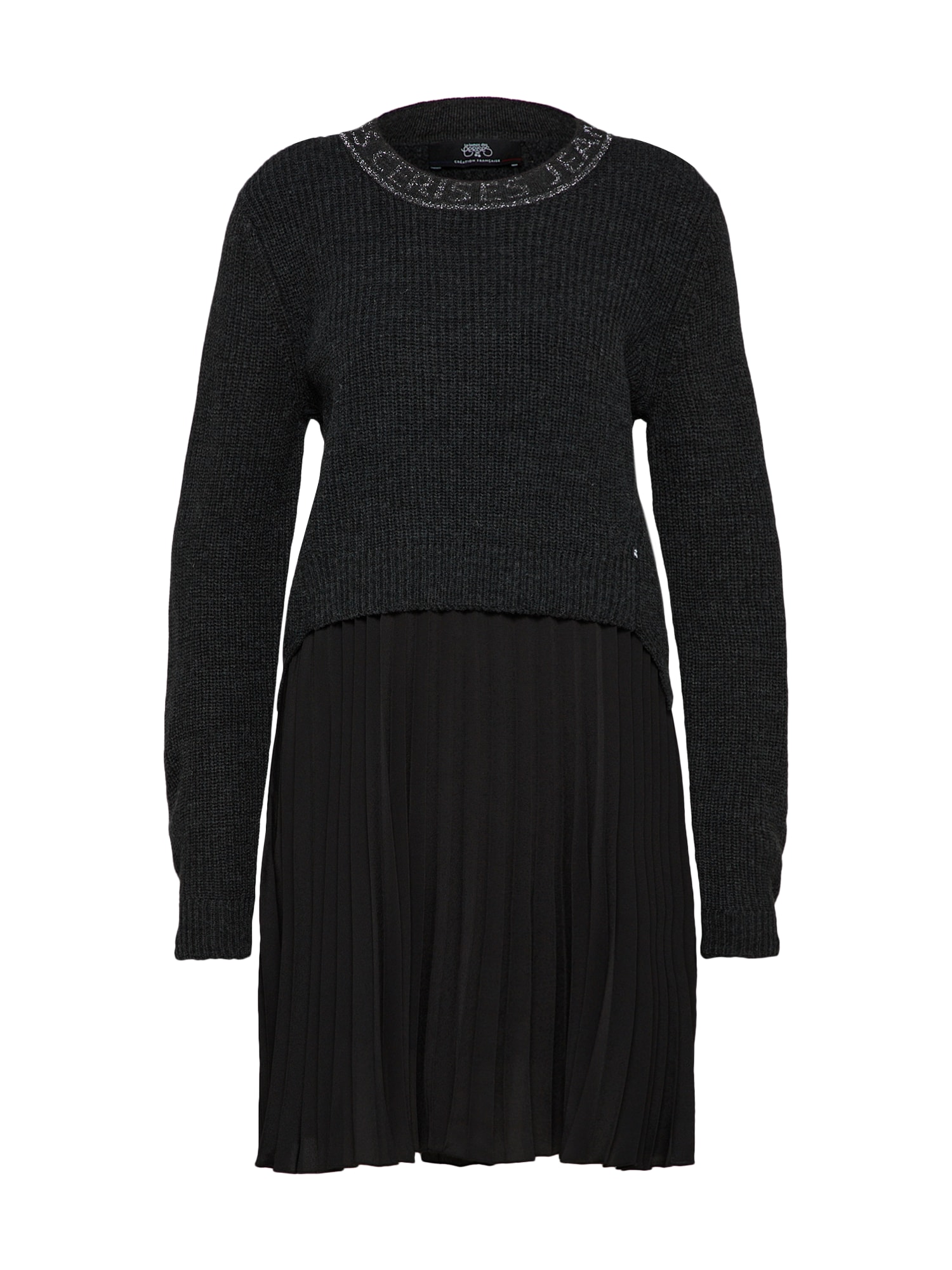 Úpletové šaty ROB F LUCINDA tmavě šedá Le Temps Des Cerises