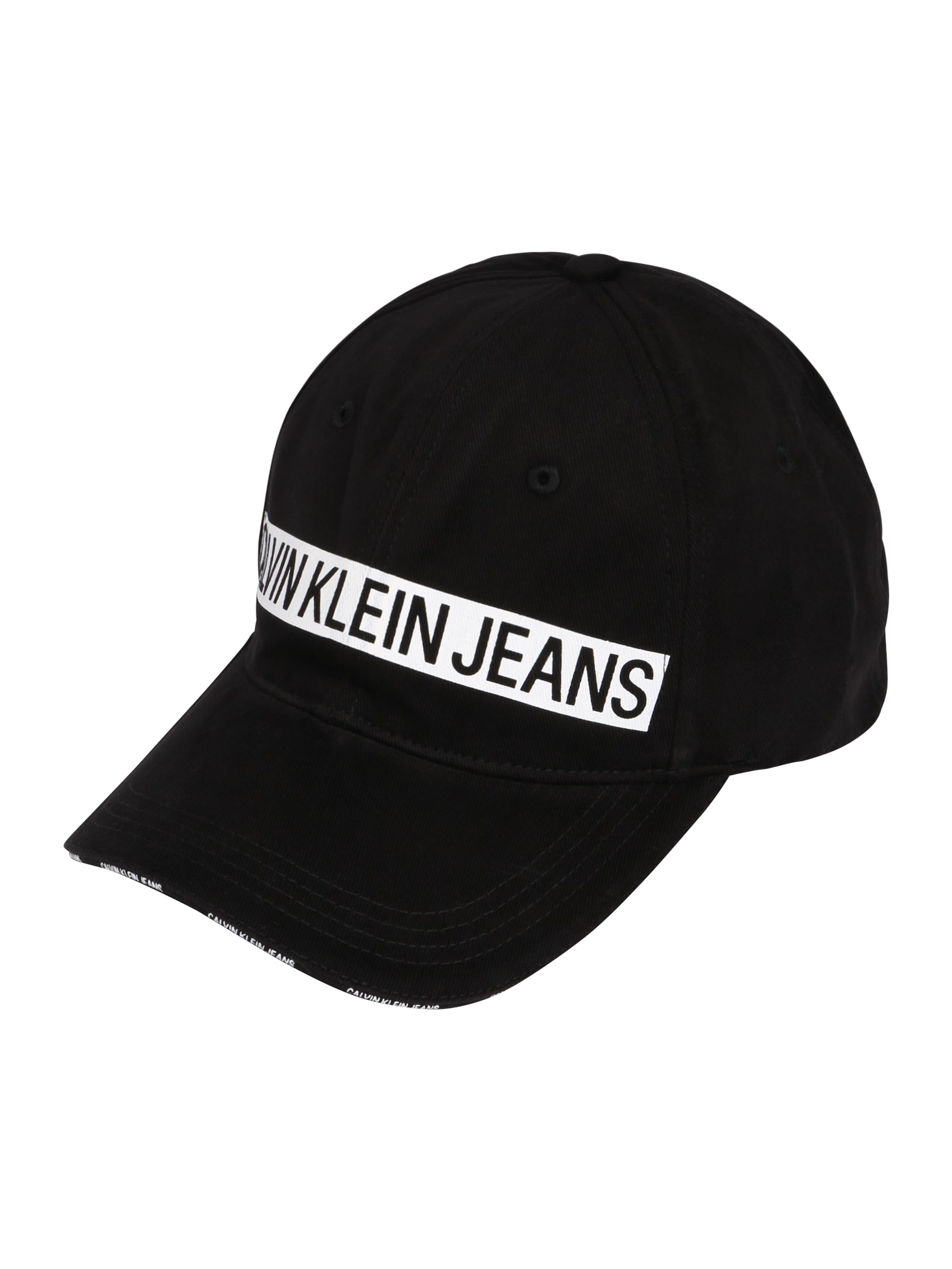 Kšiltovka J Logo Tape Cap M černá Calvin Klein Jeans