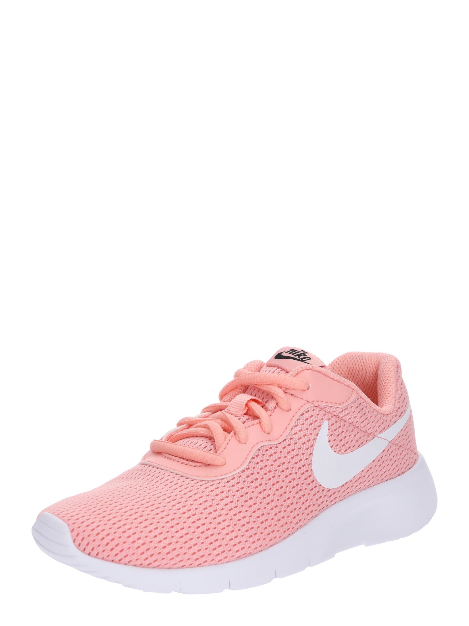 Nike Sportswear, Meisjes Sneakers 'Tanjun', koraal / wit