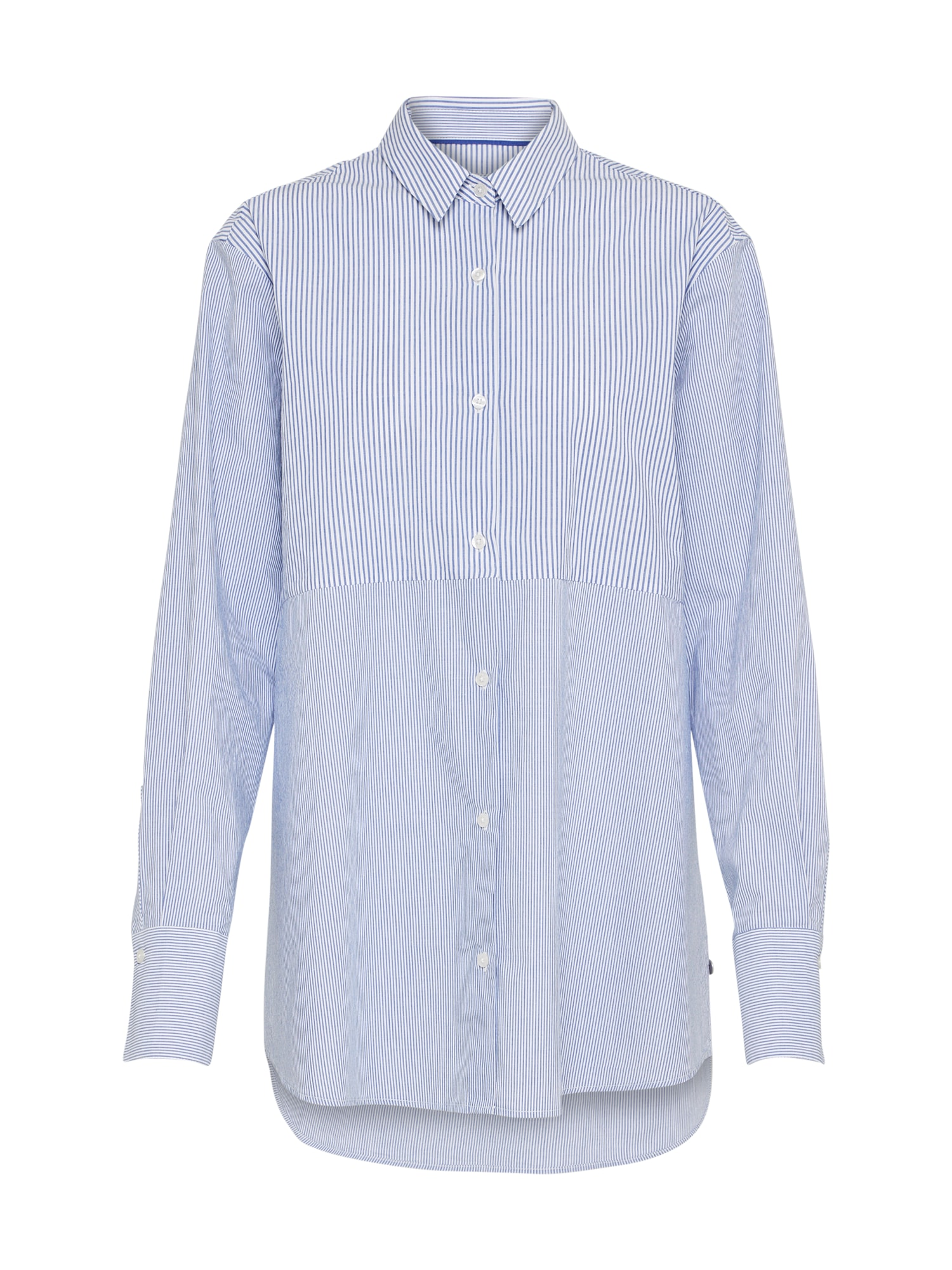 Pepe Jeans Dames Blouse OEIL blauw wit