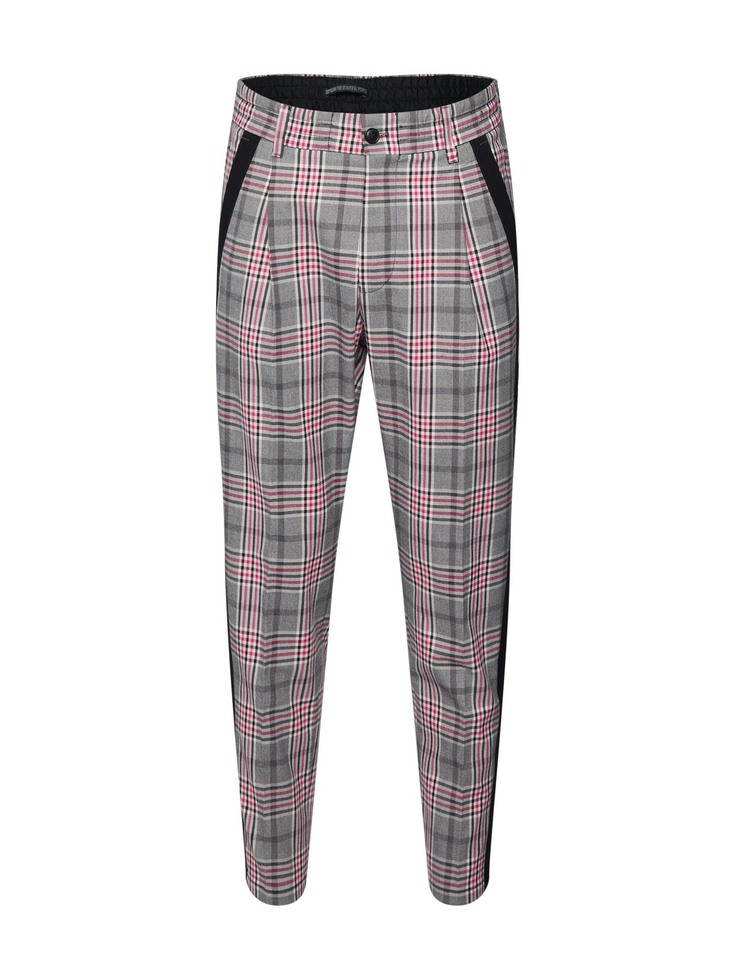 Kalhoty šedá pink DRYKORN