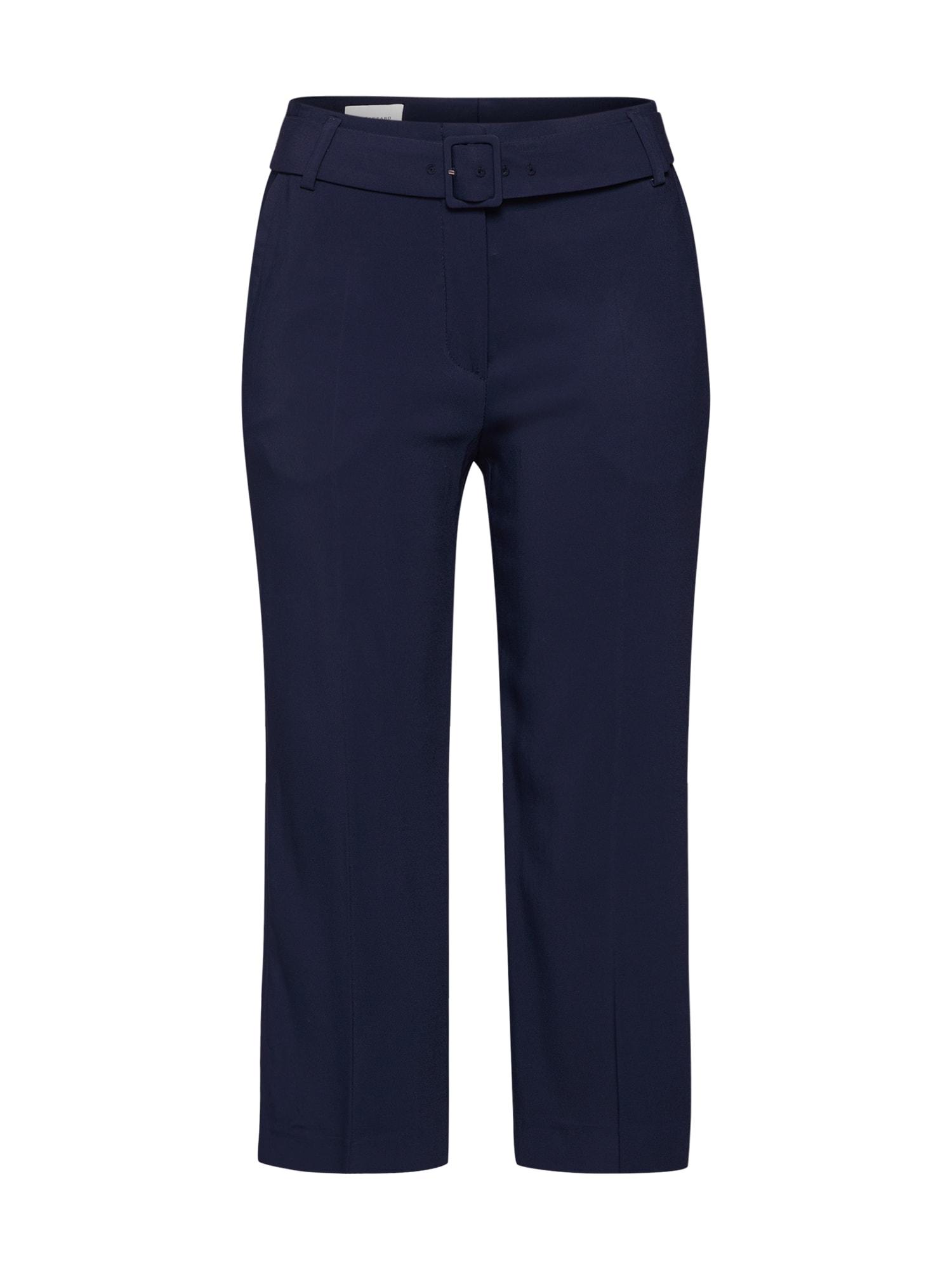 Kalhoty s puky F041S marine modrá RENÉ LEZARD