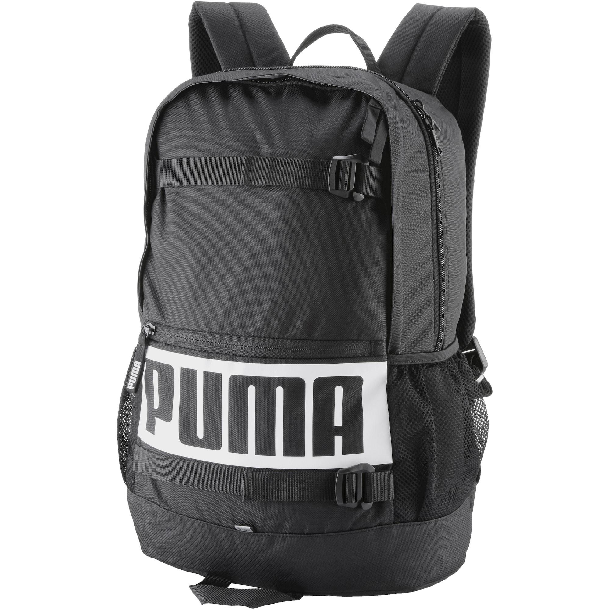 Sportovní batoh Deck černá bílá PUMA