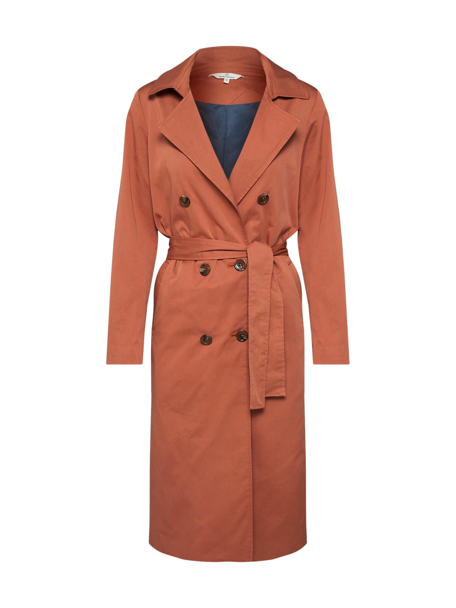 Přechodný kabát Greta červená Basic Apparel