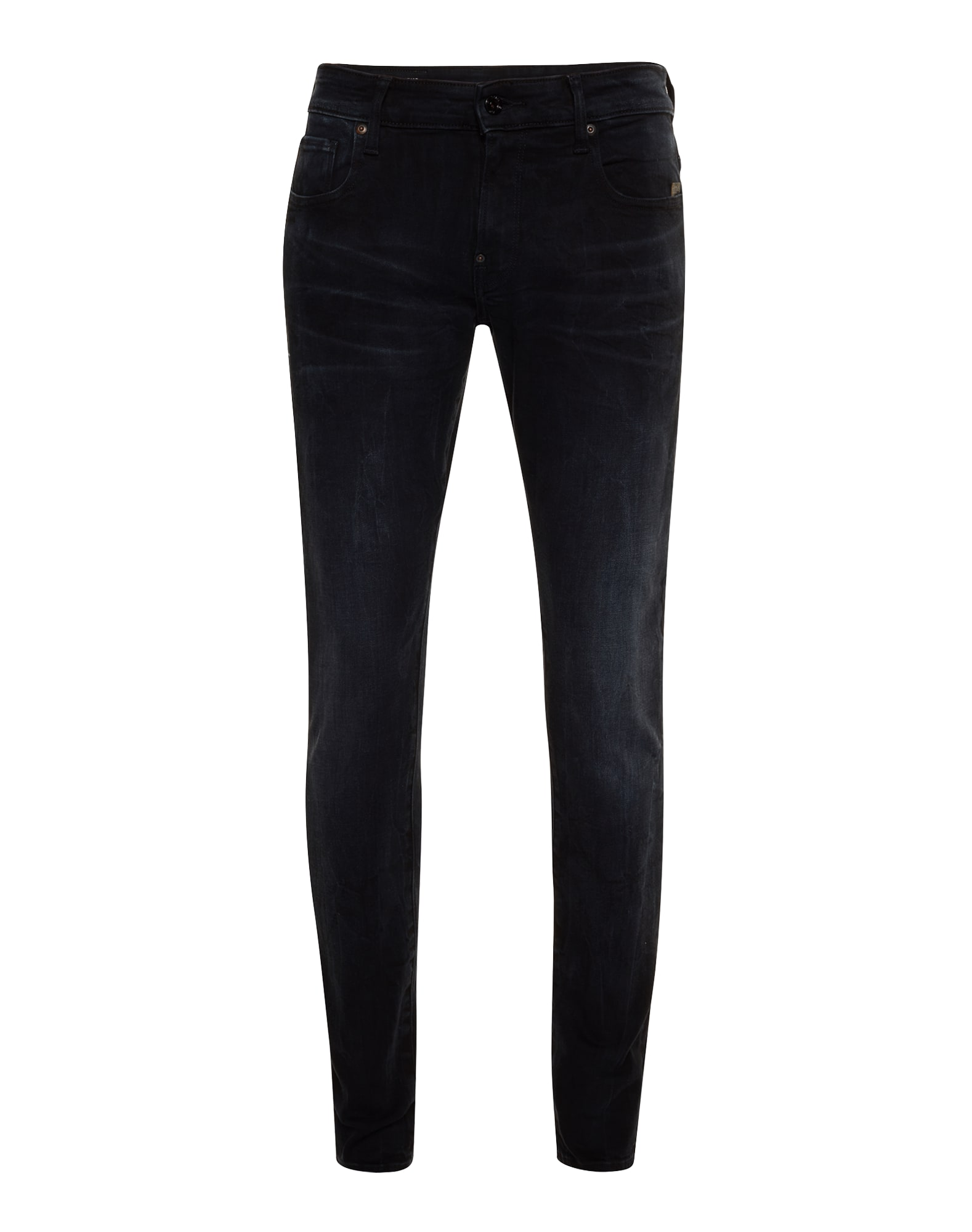 G-STAR RAW Heren Jeans Revend Super Slim black denim