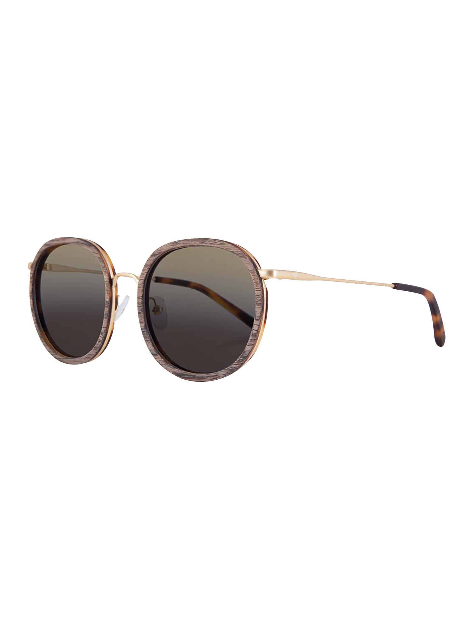 Sluneční brýle Jakob hnědá Kerbholz