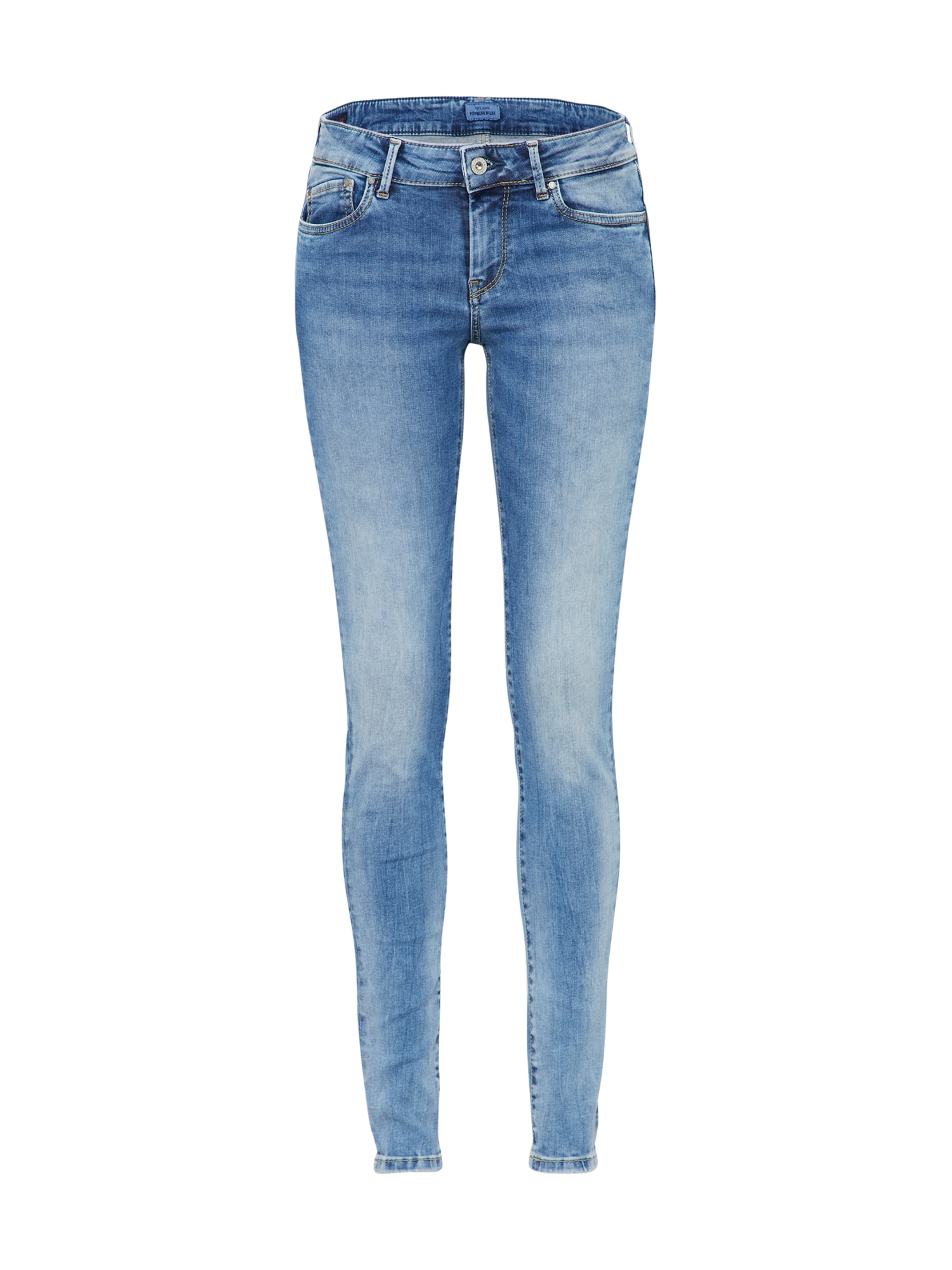 Pepe Jeans Dames Jeans Pixie blauw