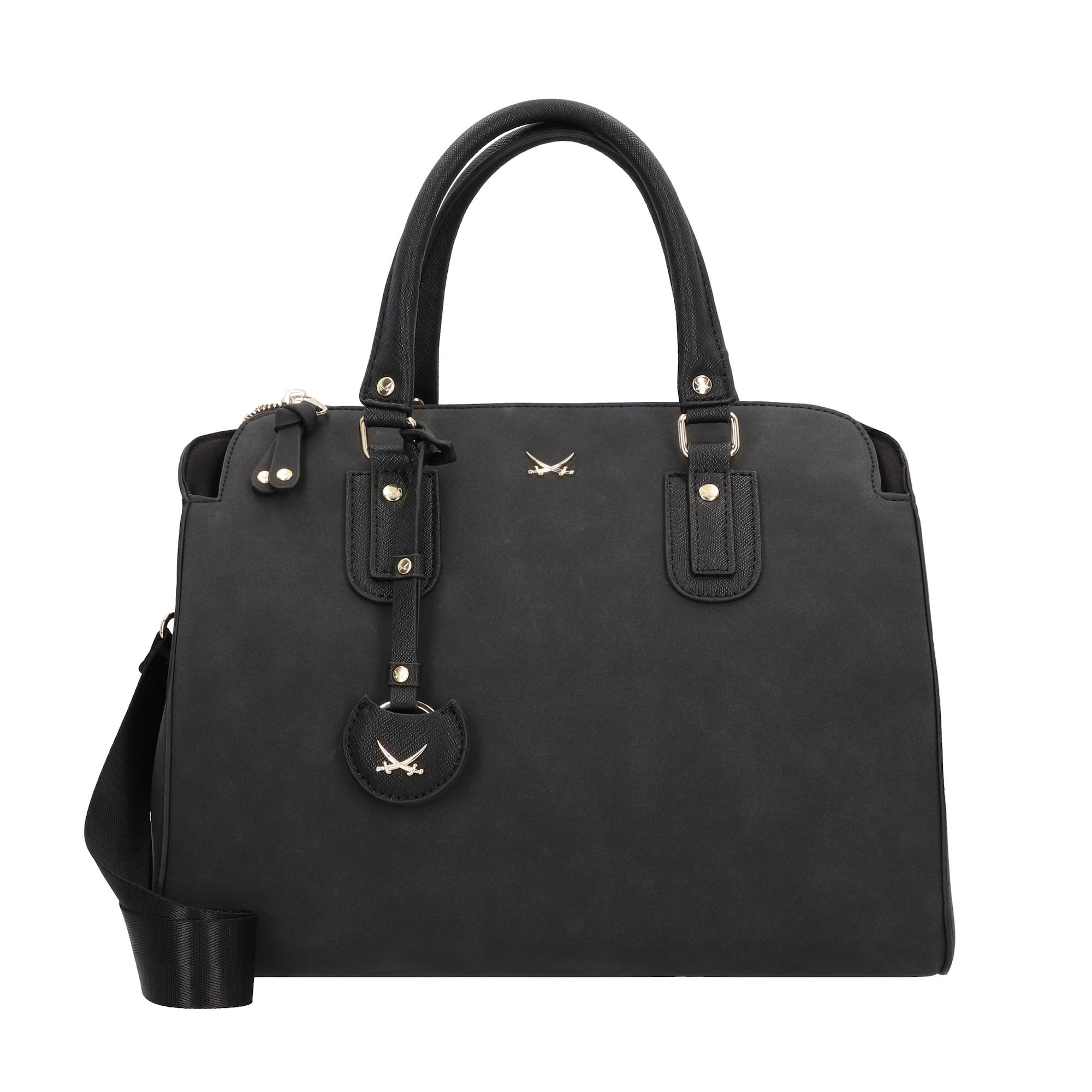 Handtasche   Taschen > Handtaschen > Sonstige Handtaschen   Schwarz   SANSIBAR