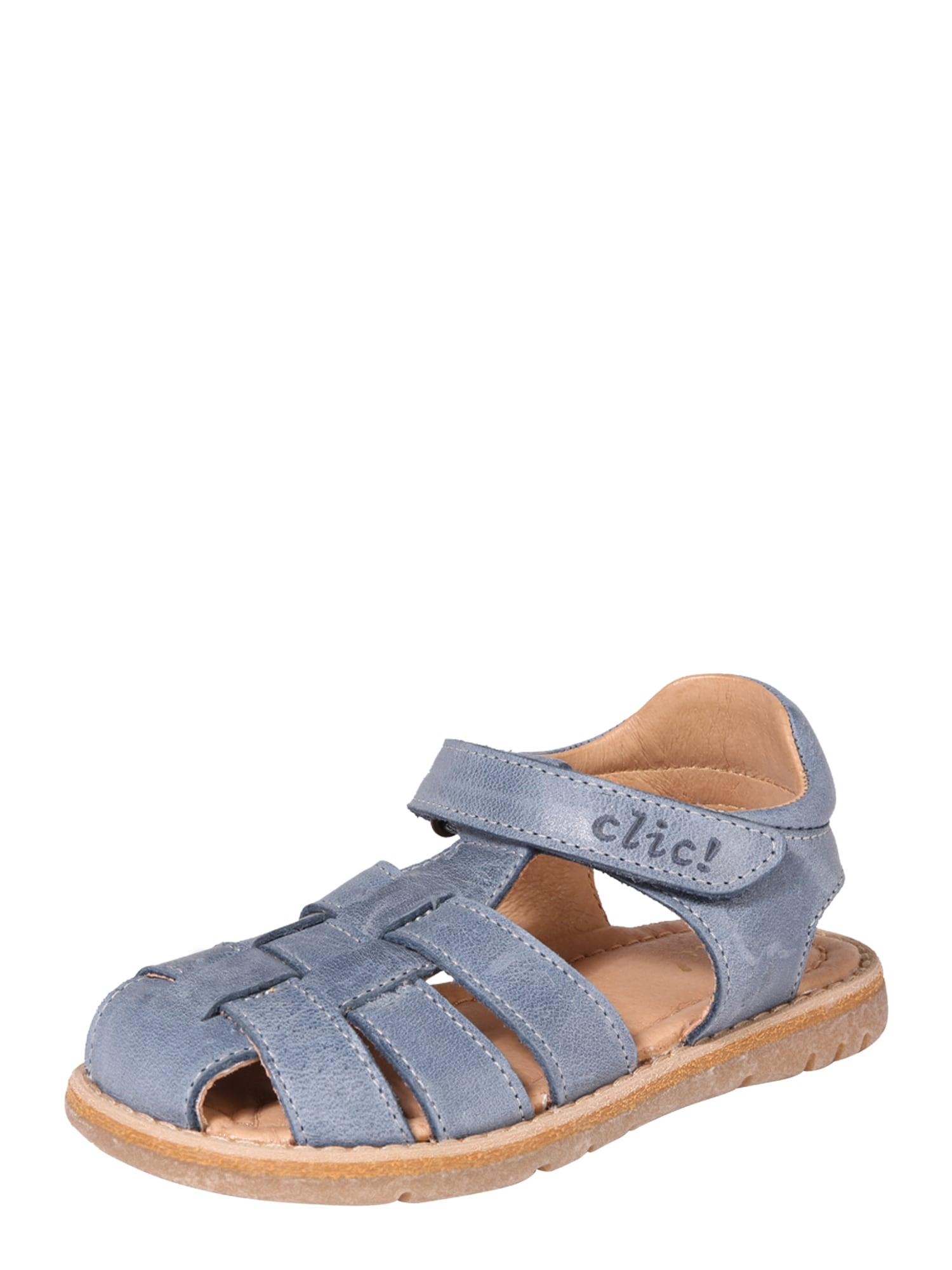 Sandály CL-8759 modrá Clic