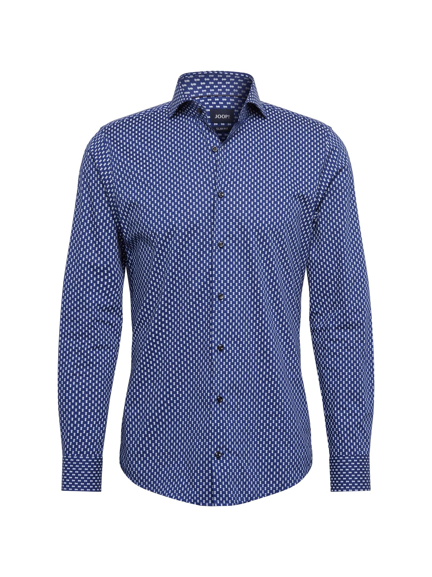 Košile Pajos tmavě modrá bílá JOOP!
