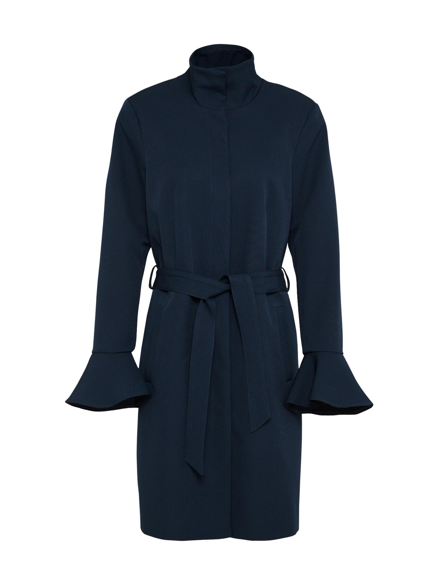 Přechodný kabát RENNES JOYCE tmavě modrá VERO MODA
