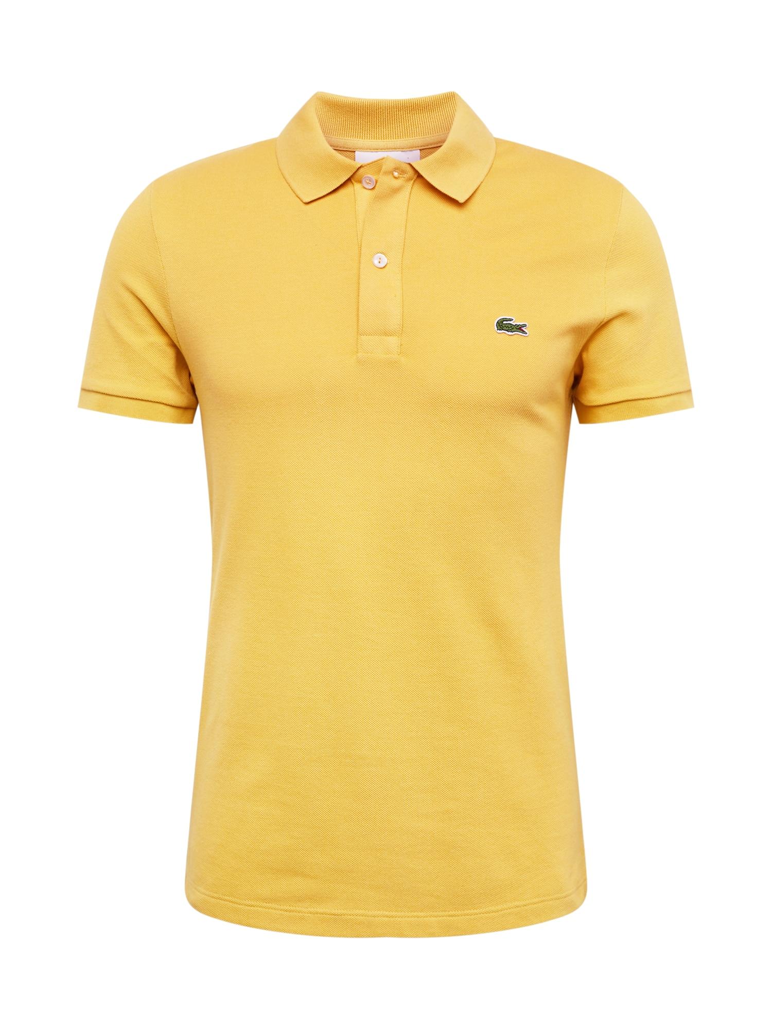 Tričko žlutá LACOSTE