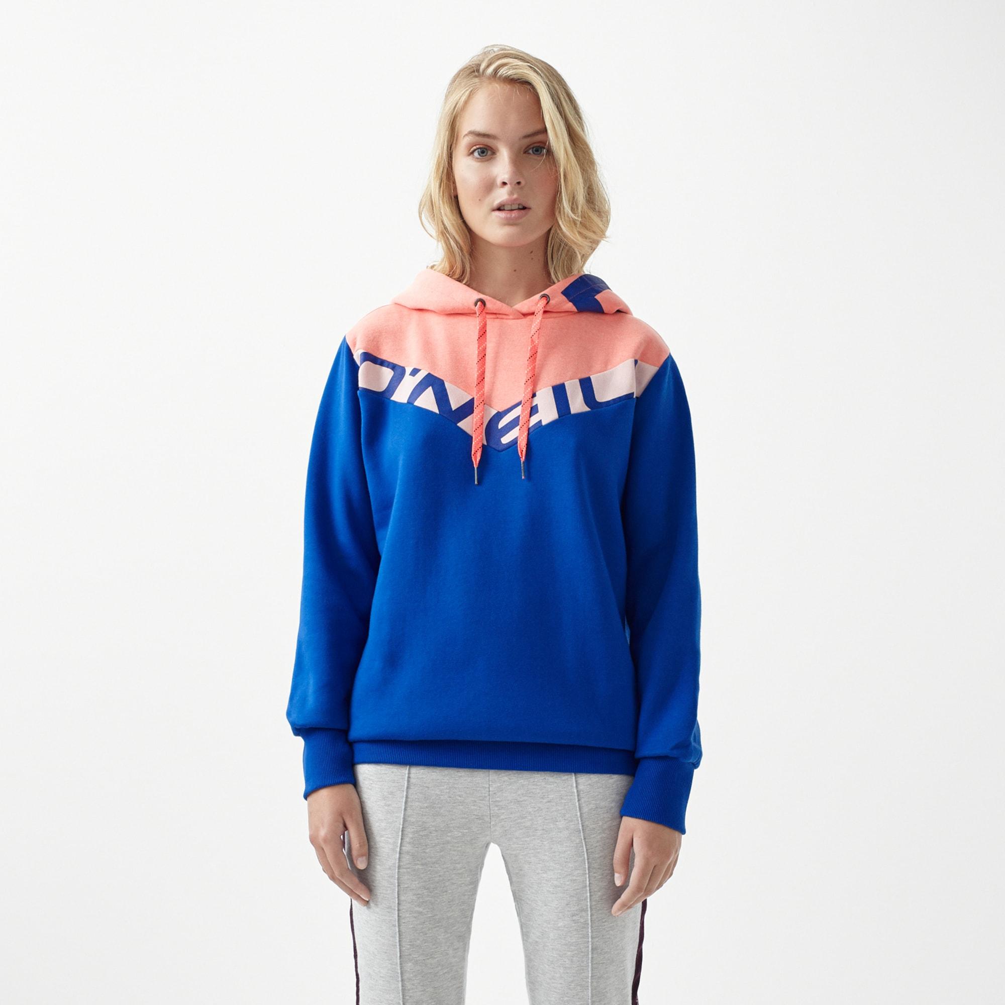 Sweatshirt 'LW COLOUR BLOCK OTH HOODIE'