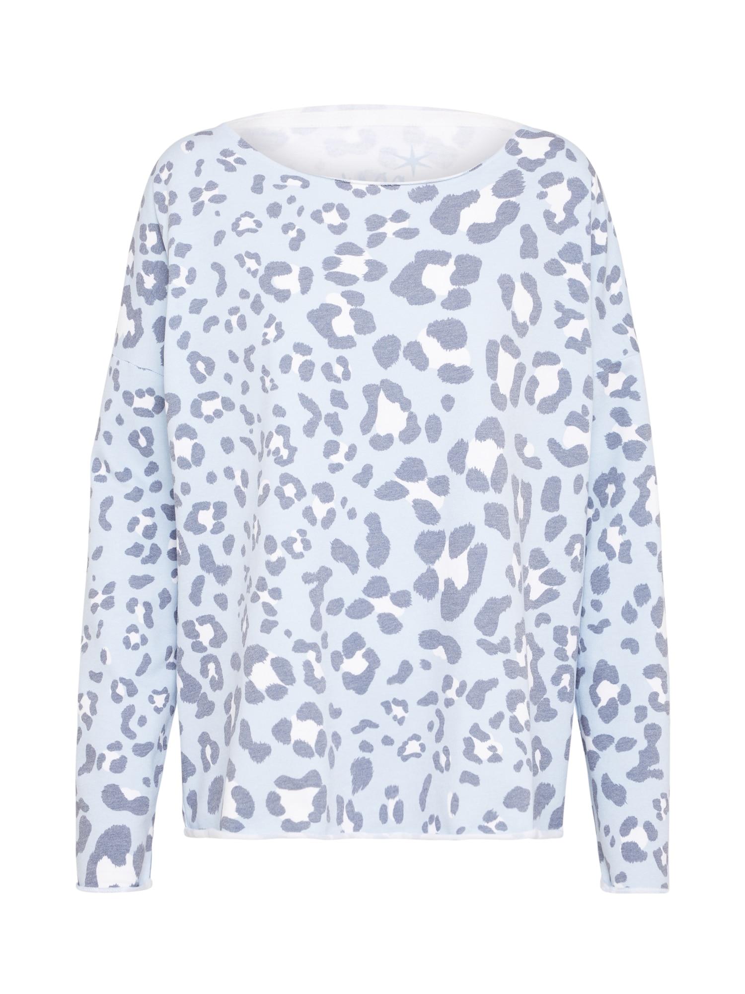 Juvia, Dames Sweatshirt, lichtblauw