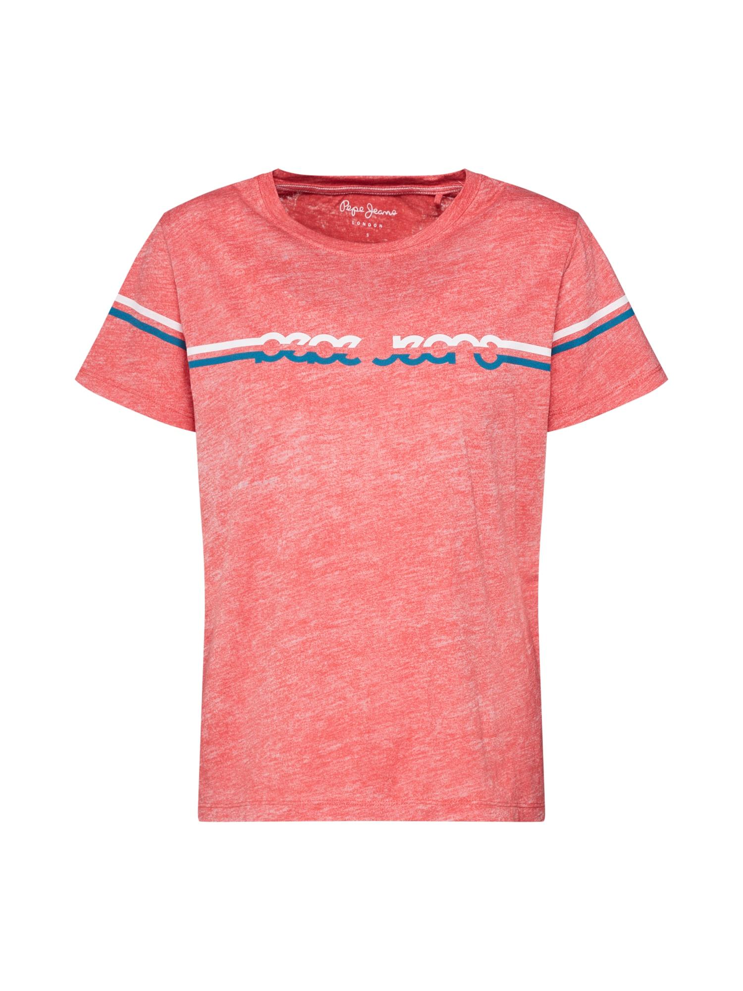 Tričko Lola pink Pepe Jeans