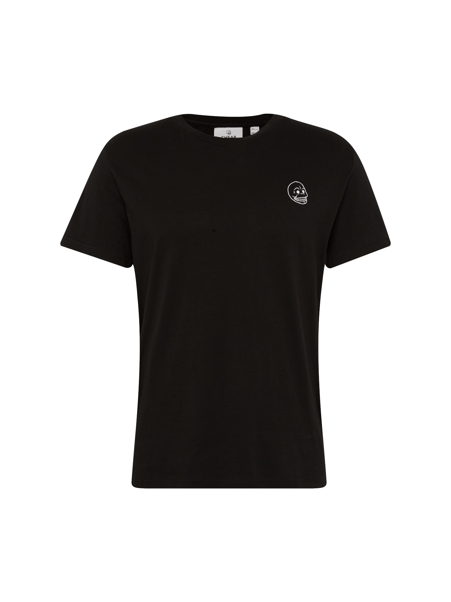 CHEAP MONDAY Heren Shirt Standard tee Tiny skull zwart