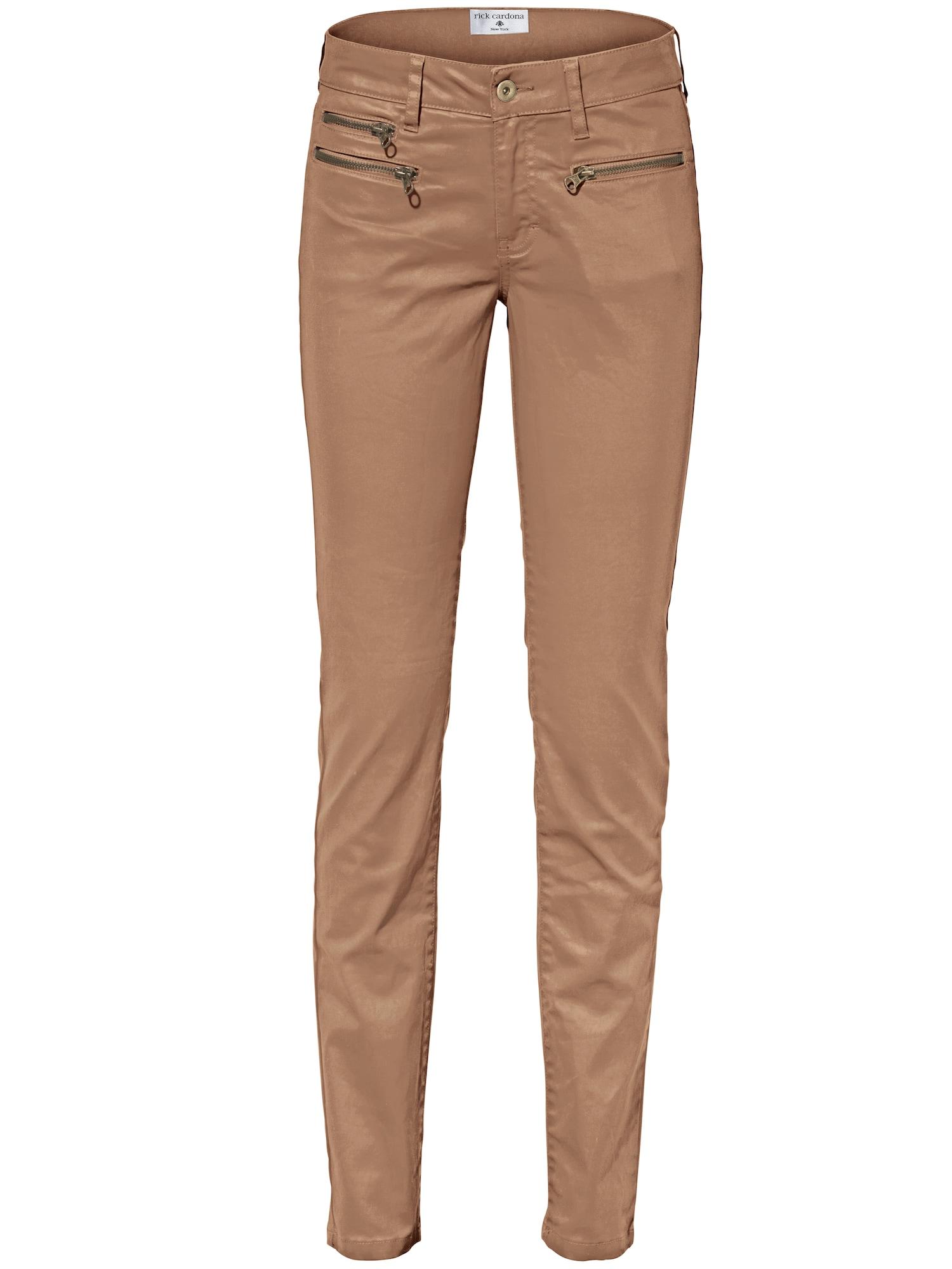 Kalhoty karamelová Heine