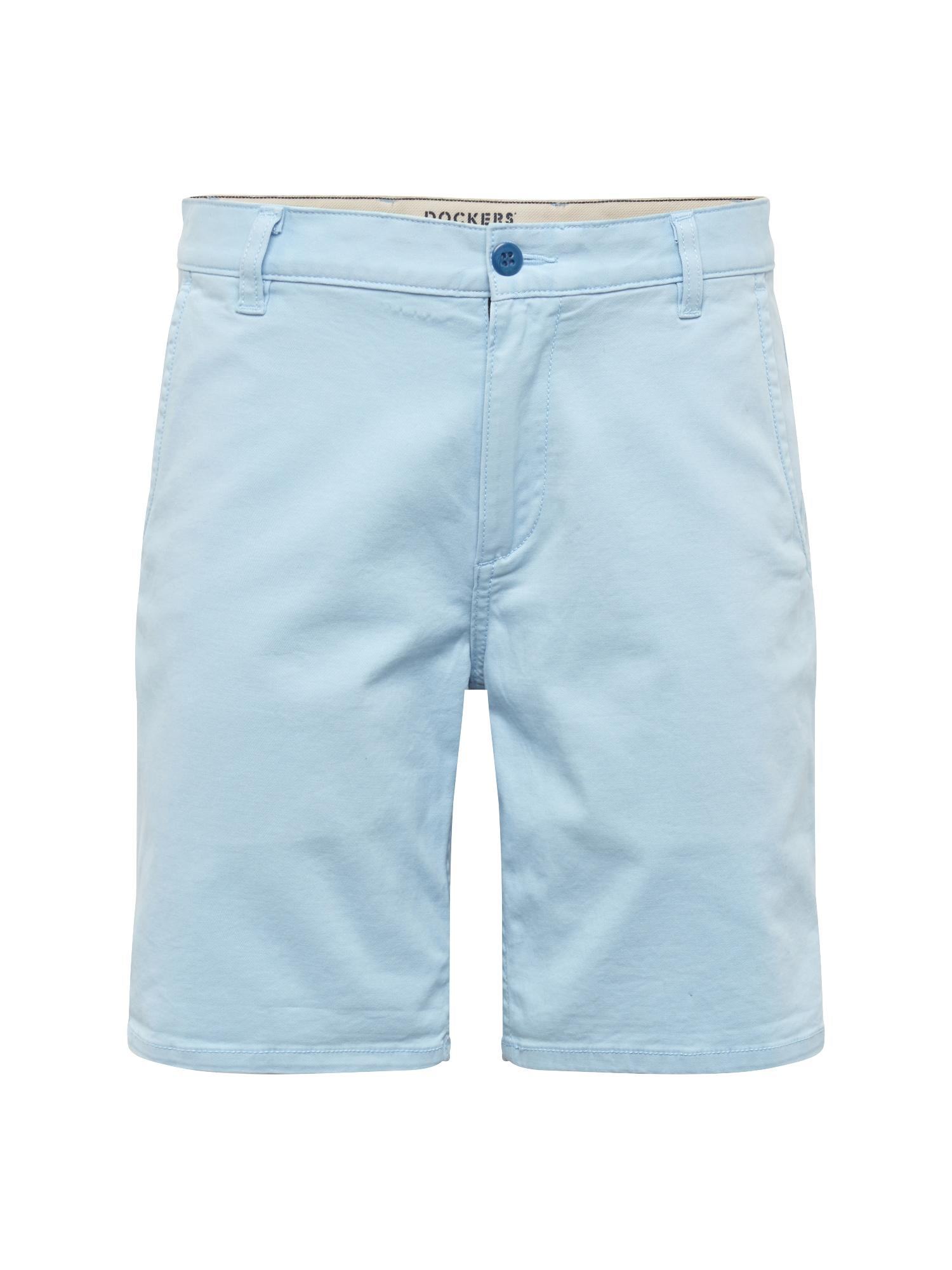 Chino kalhoty ALPHA SHORT - STRETCH TWILL světlemodrá Dockers