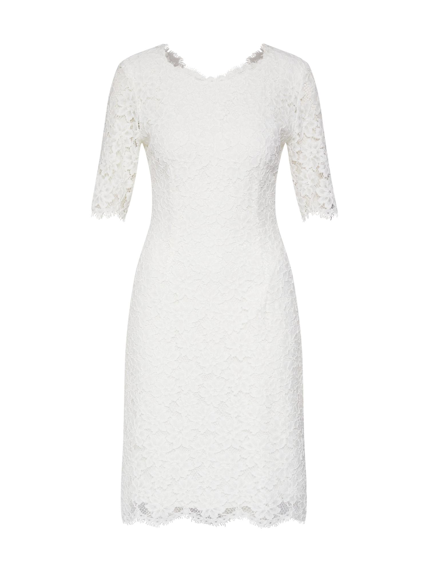 Šaty Kalissy-1 bílá HUGO