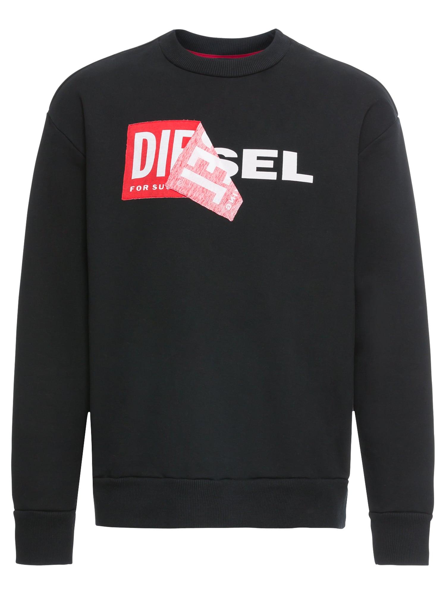 Sweatshirt 'S-SAMY' | Bekleidung > Sweatshirts & -jacken > Sweatshirts | Rot - Schwarz - Weiß | Diesel