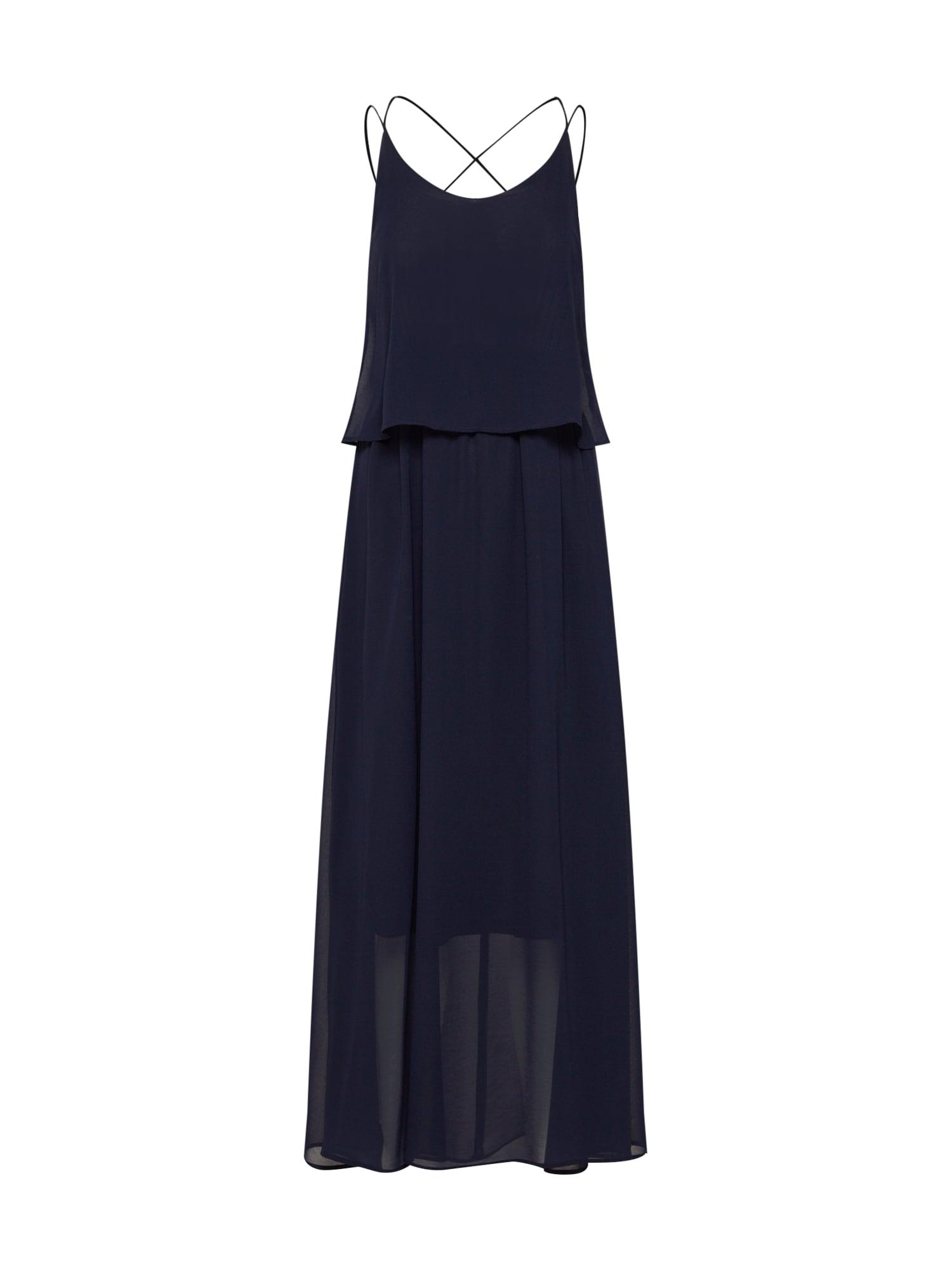 Společenské šaty BARBARA noční modrá VERO MODA