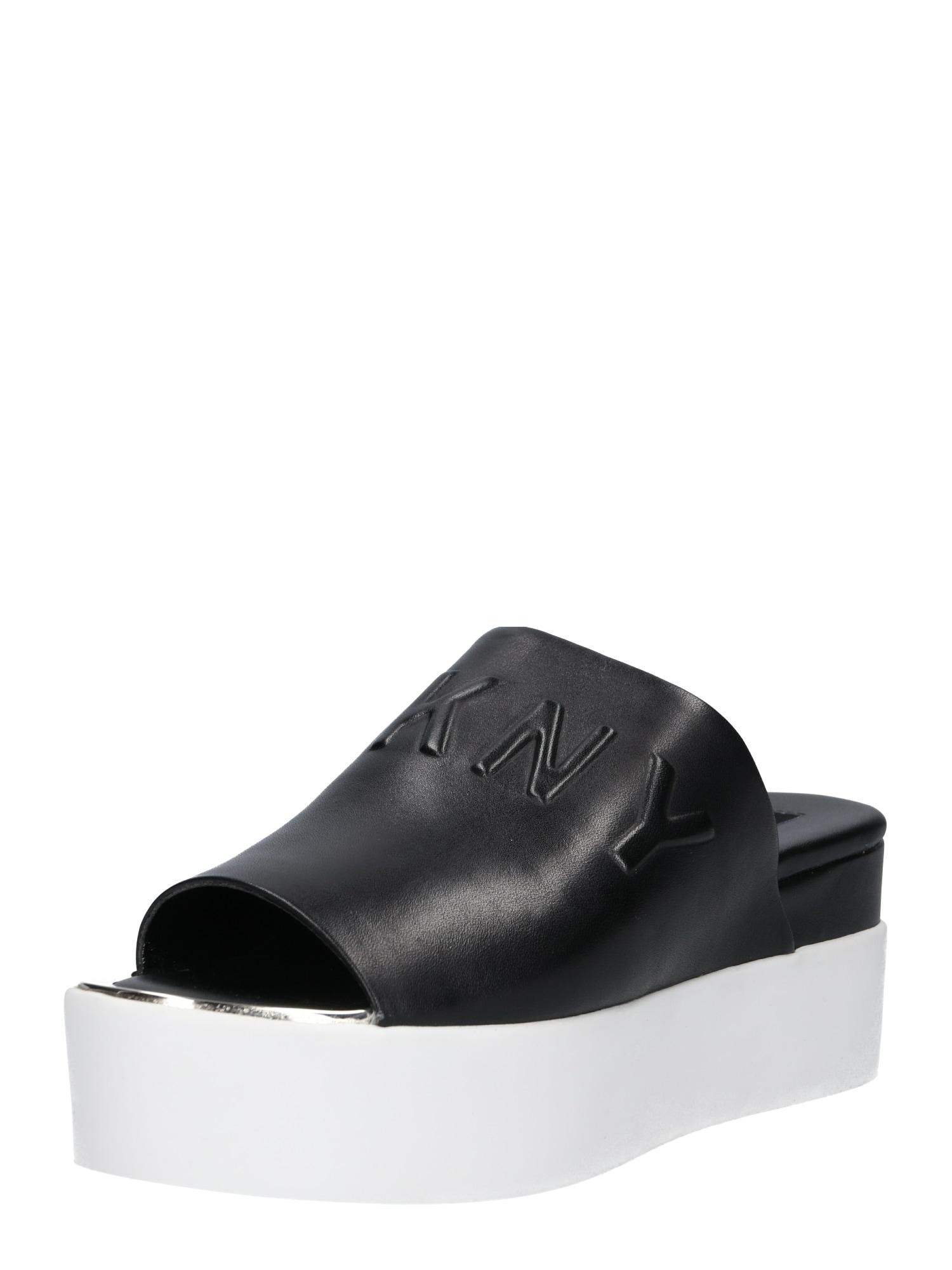 Slipper 'COVO - PLATFORM SLIDE' | Schuhe > Slipper | Schwarz | DKNY