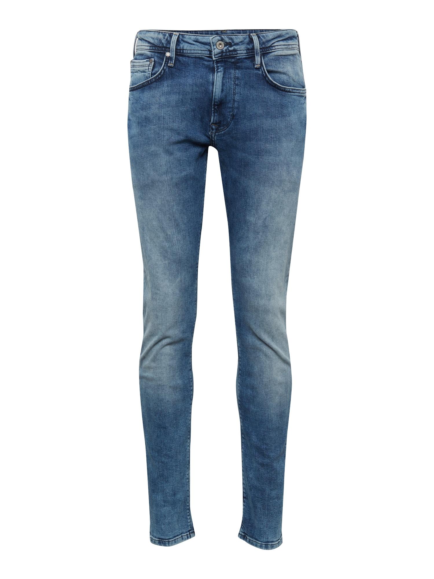 Džíny STANLEY modrá džínovina Pepe Jeans
