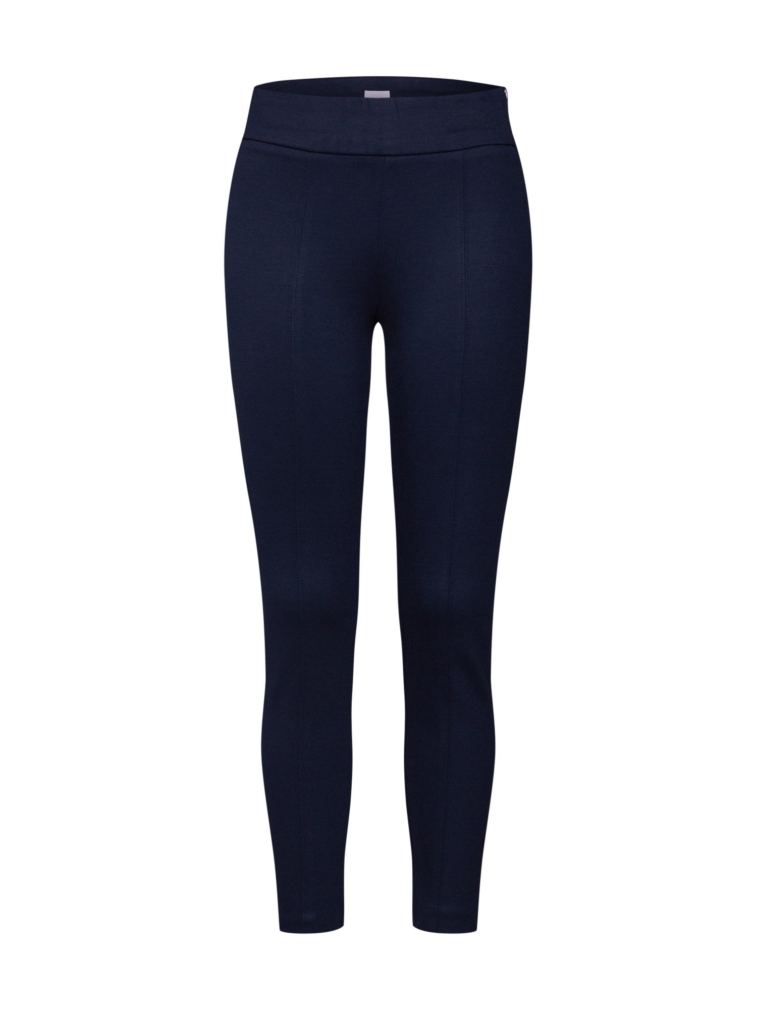 Kalhoty SIDE ZIP LEGGING námořnická modř GAP