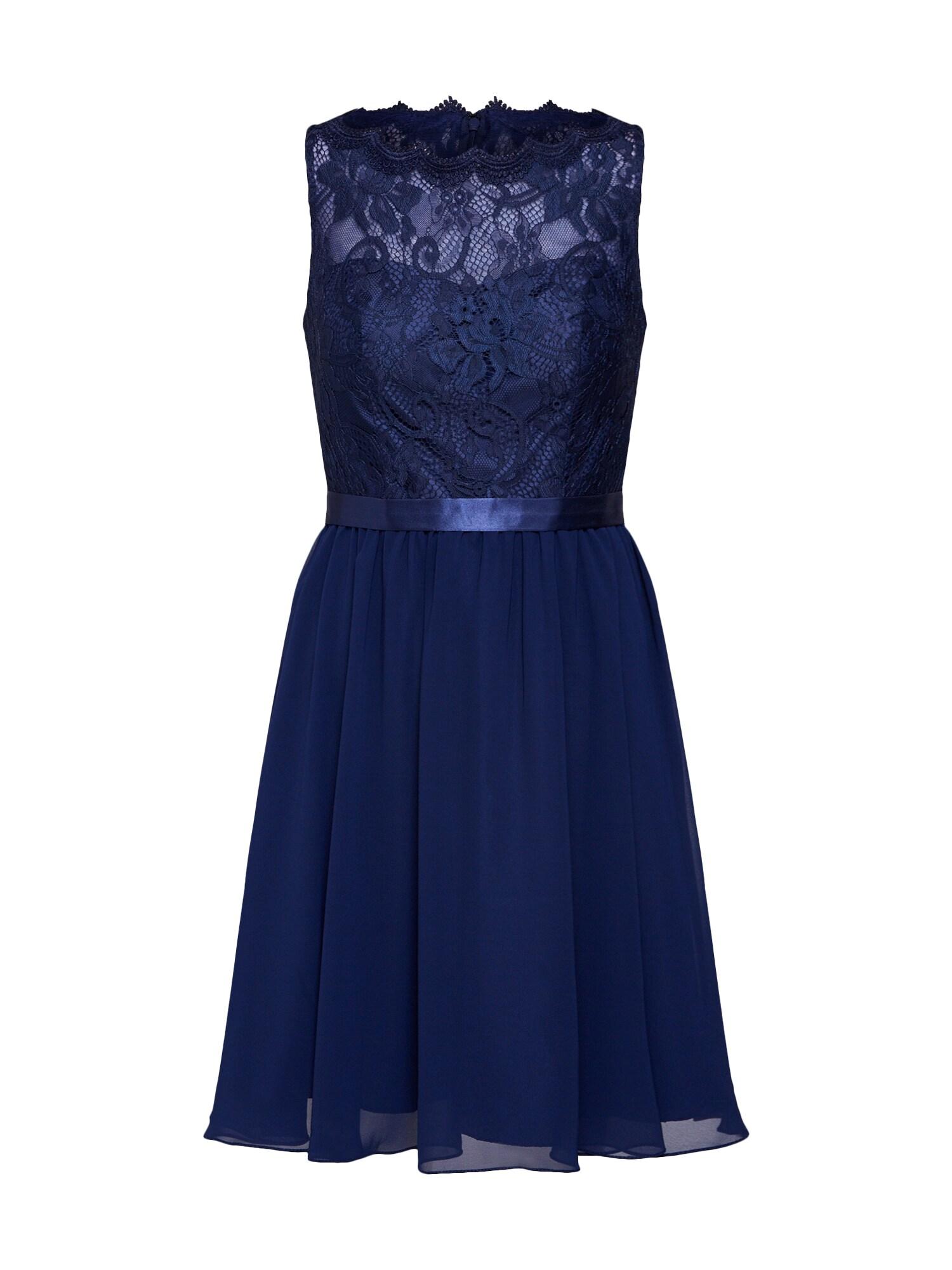 Koktejlové šaty noční modrá MAGIC NIGHTS