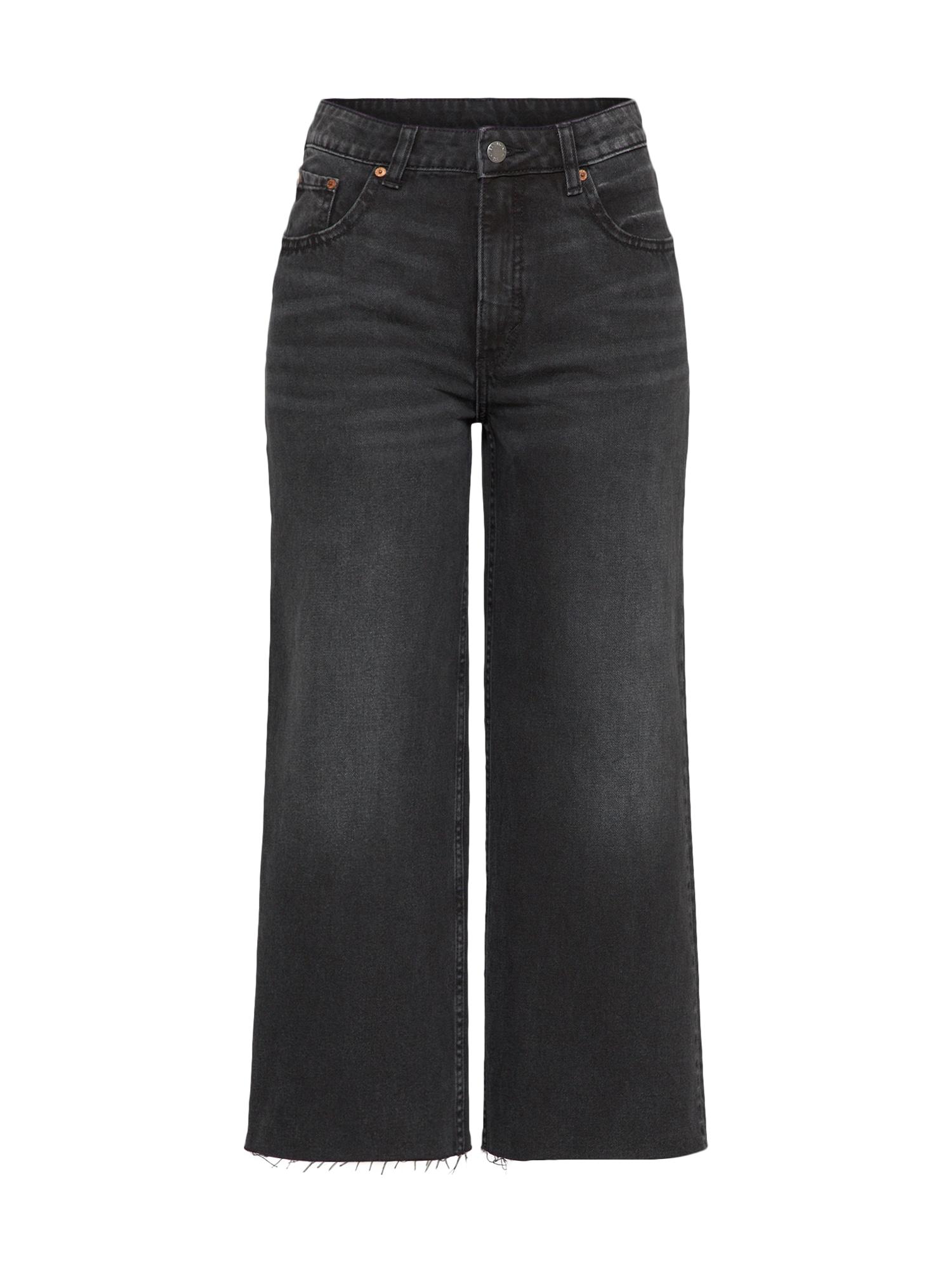 CHEAP MONDAY Dames Jeans Ally zwart