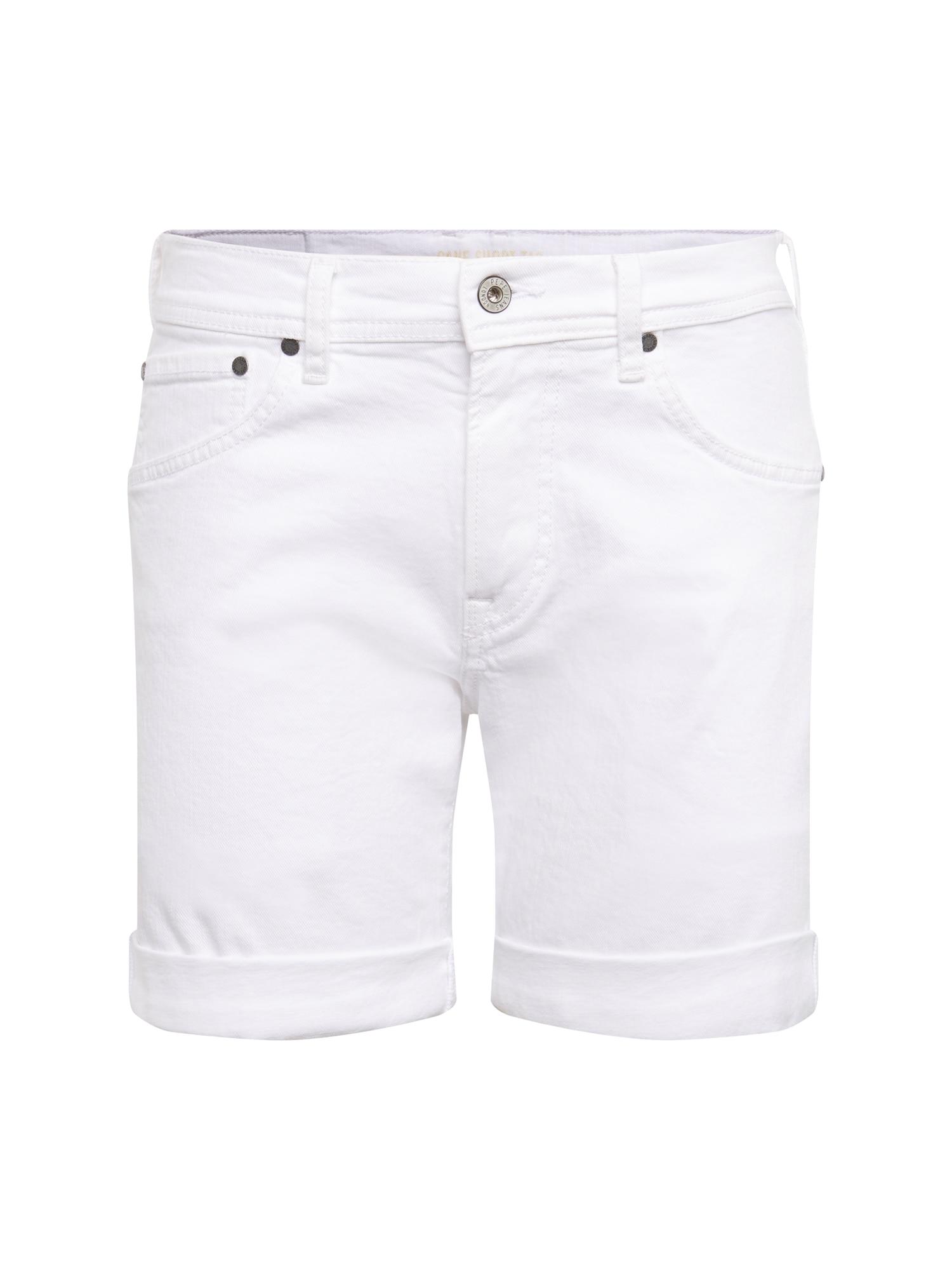 Džíny Cane bílá džínovina Pepe Jeans