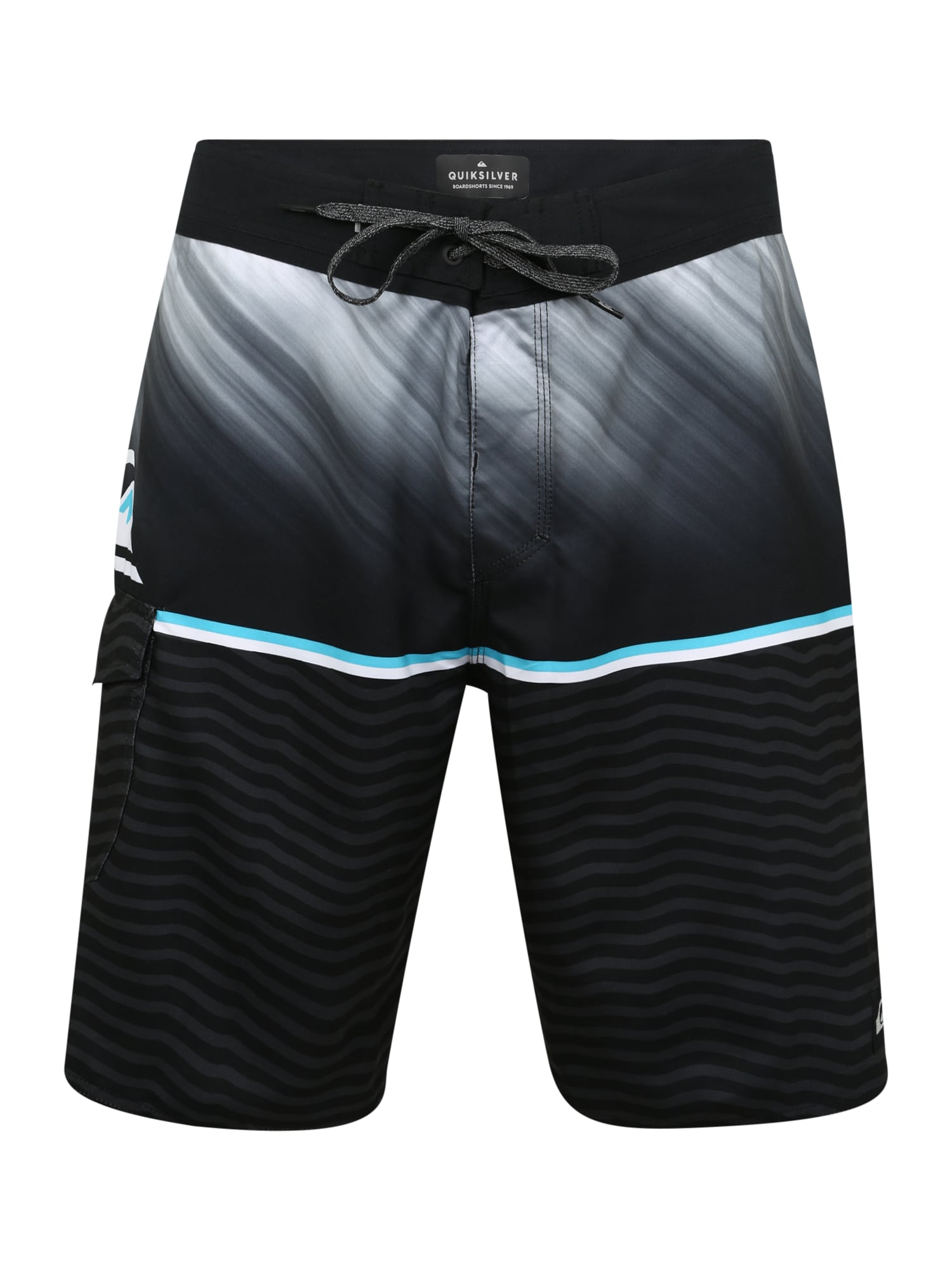 Plavky EVDAYDIV20 M BDSH modrá šedá černá QUIKSILVER