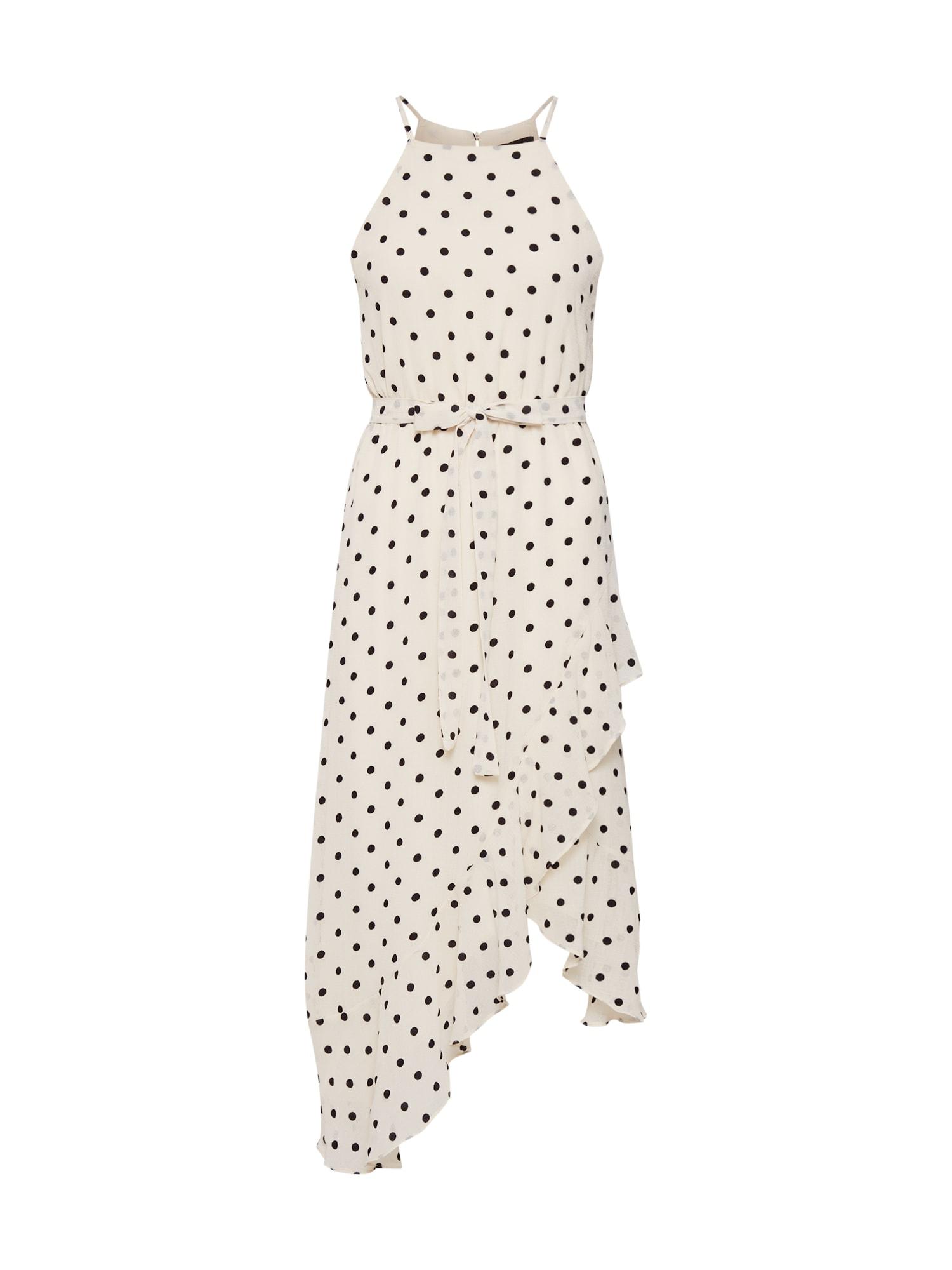 Letní šaty VIVIANA SPOT bílá Bardot
