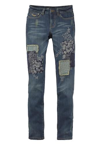 jeans mit flicken preisvergleiche erfahrungsberichte und kauf bei nextag. Black Bedroom Furniture Sets. Home Design Ideas