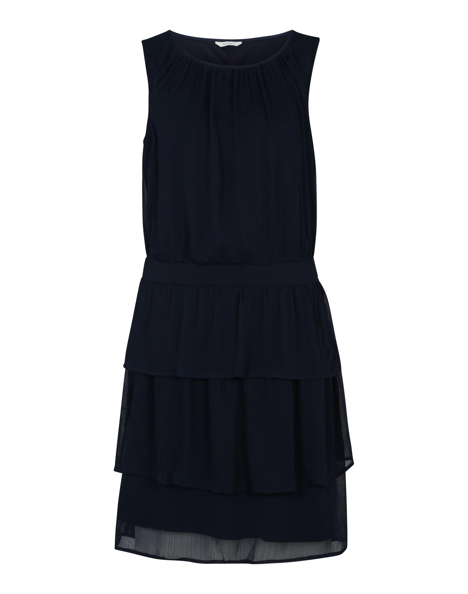 Koktejlové šaty Kanya námořnická modř Sparkz