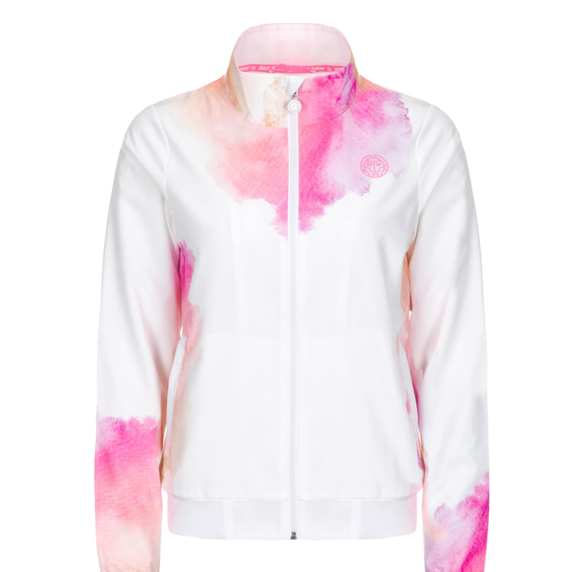 Trainingsjacke | Sportbekleidung > Sportjacken > Trainingsjacken | Pink - Weiß | BIDI BADU